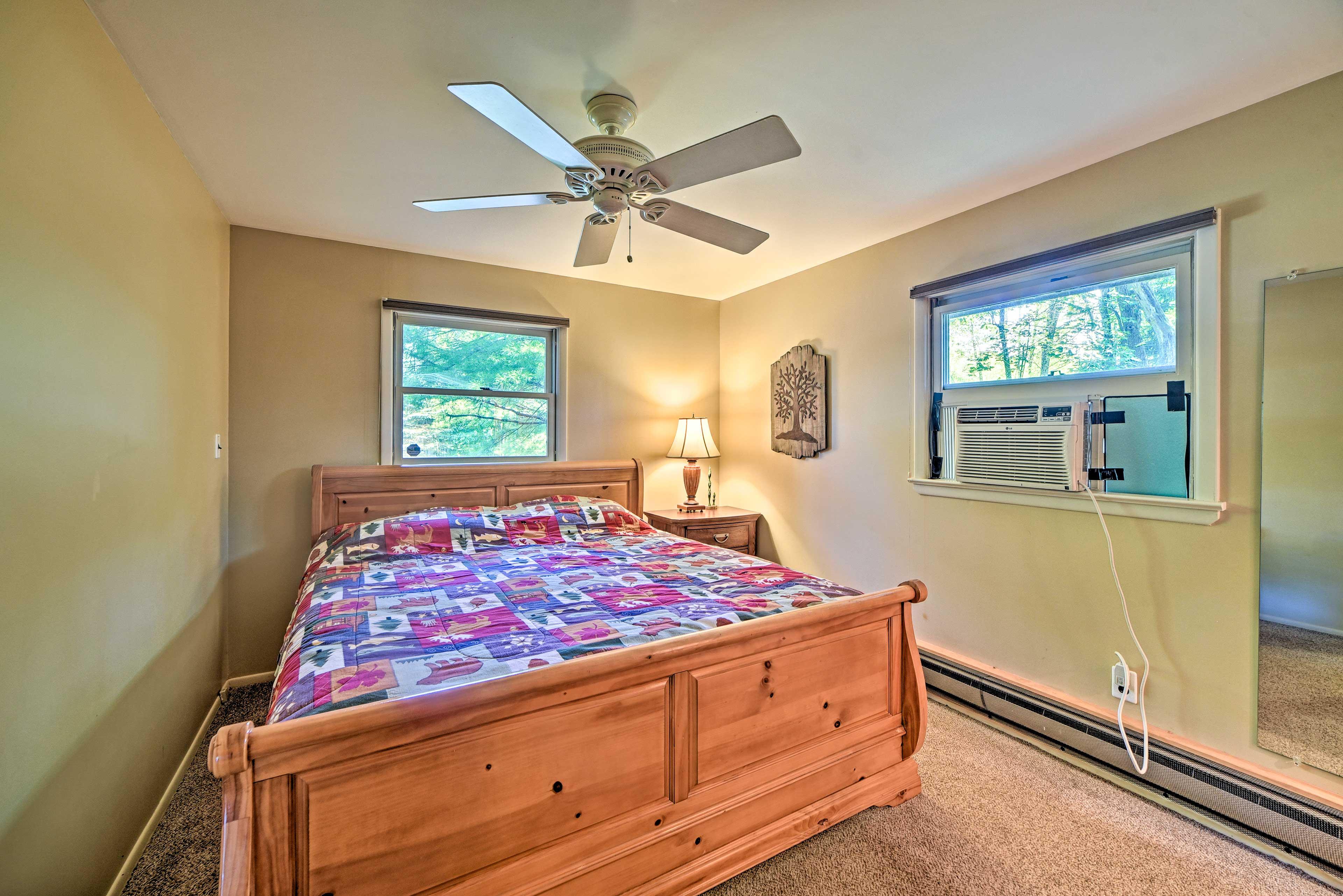 Bedroom 1 | King Bed | 2nd Level