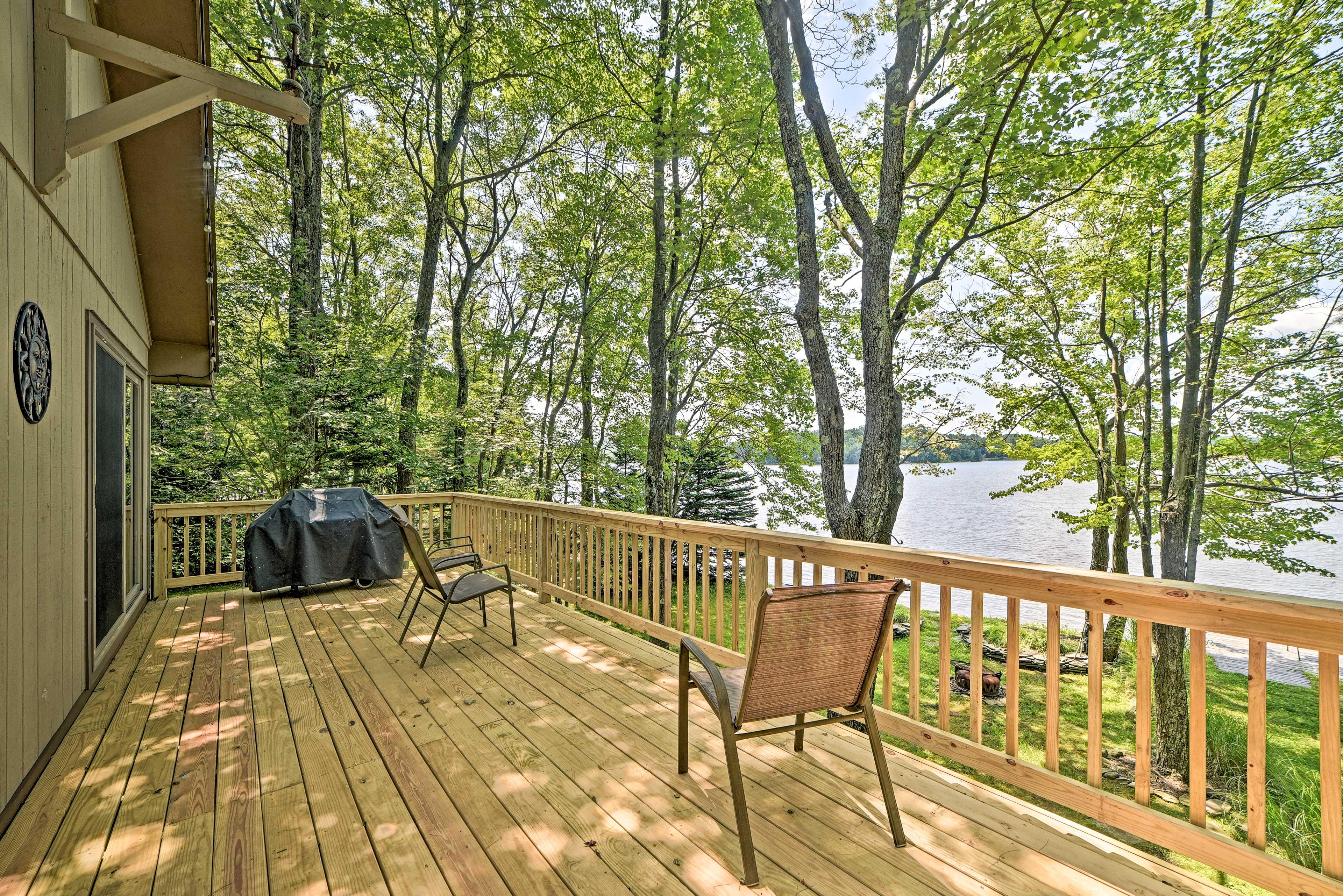 Deck | Gas Grill | Lake Views | Step-Free Access