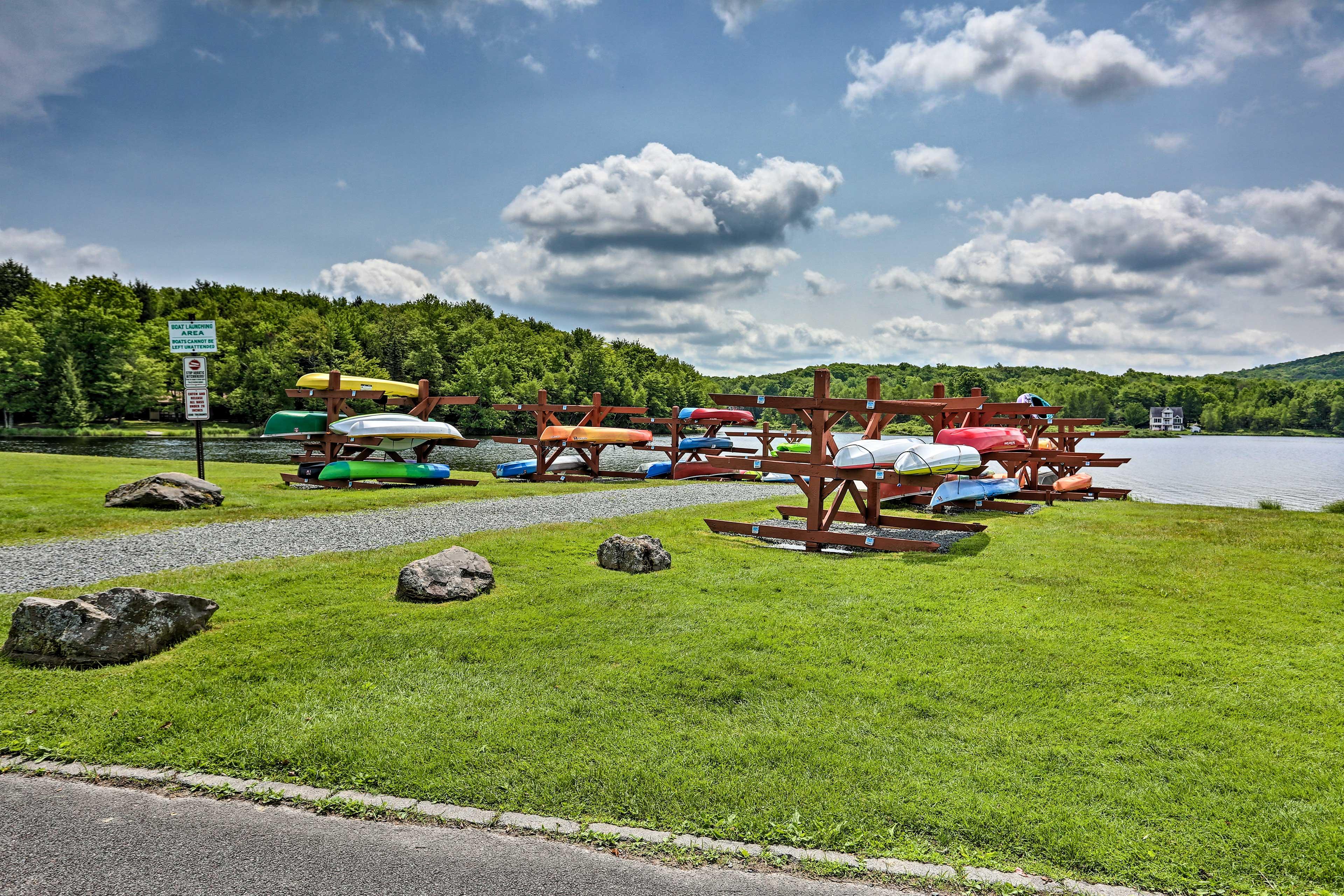 Arrowhead Lake Community Amenities (additional fees apply)