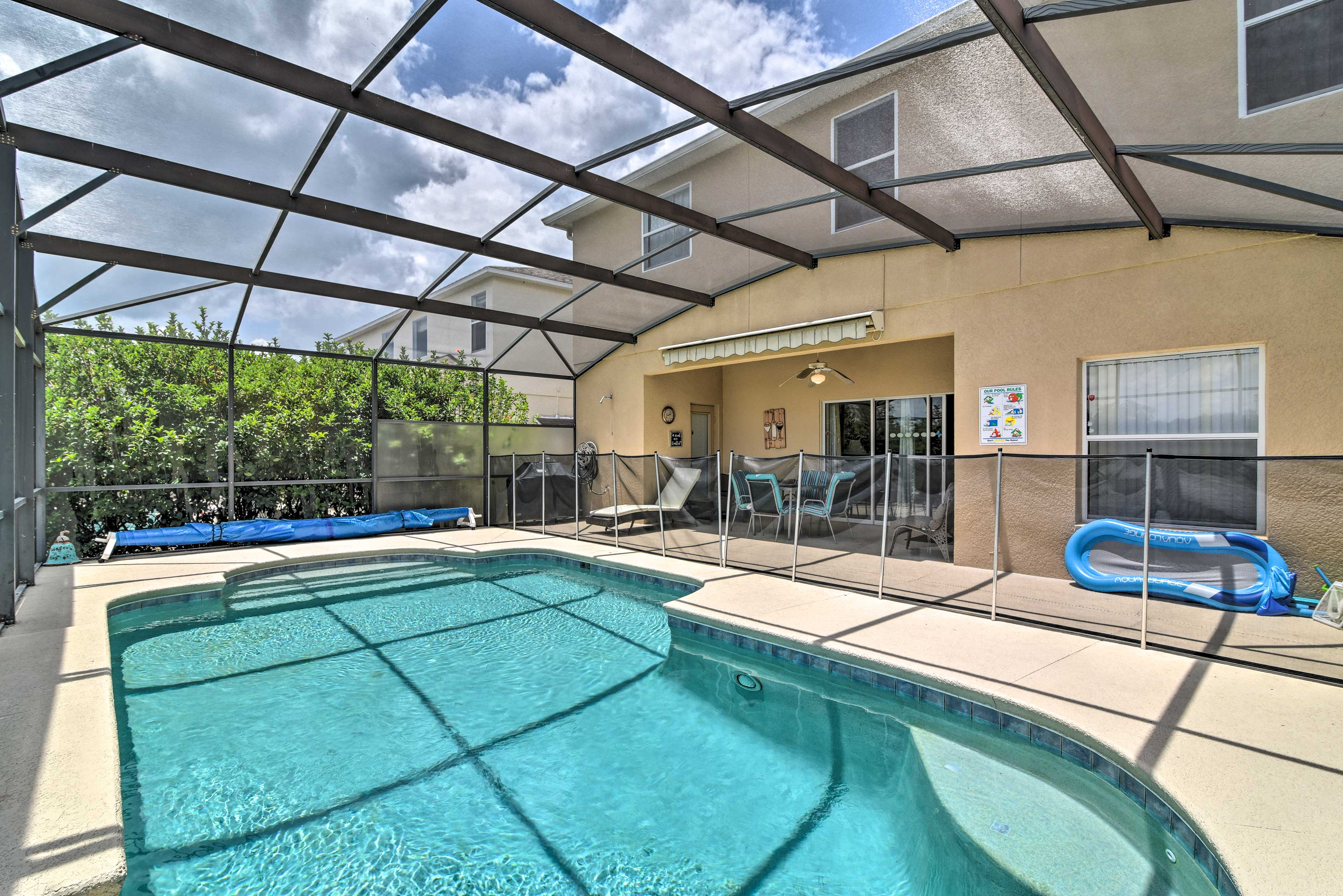 Adventure awaits at this 4-bedroom, 3-bath vacation rental home in Davenport.