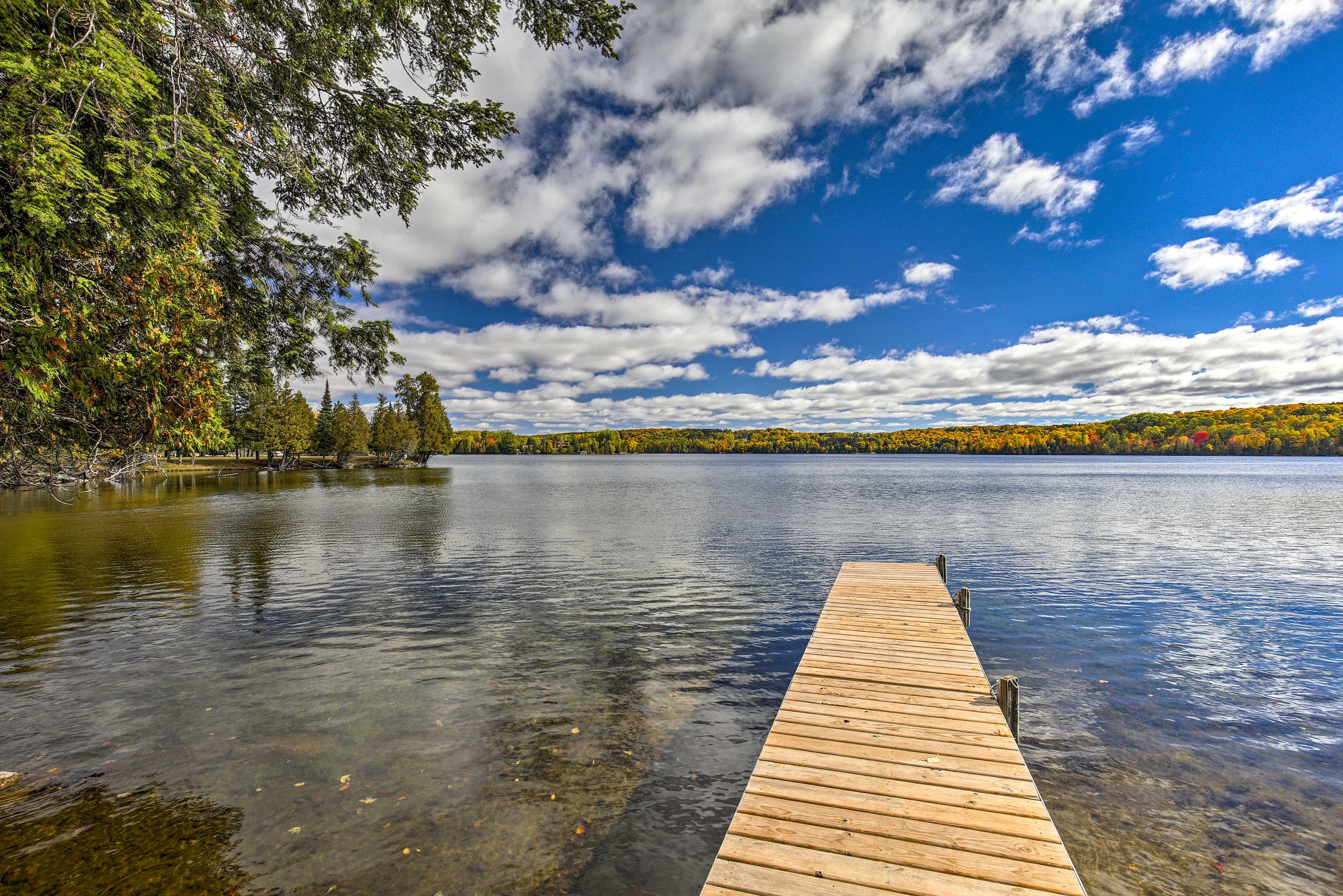Dock w/ Lake Access