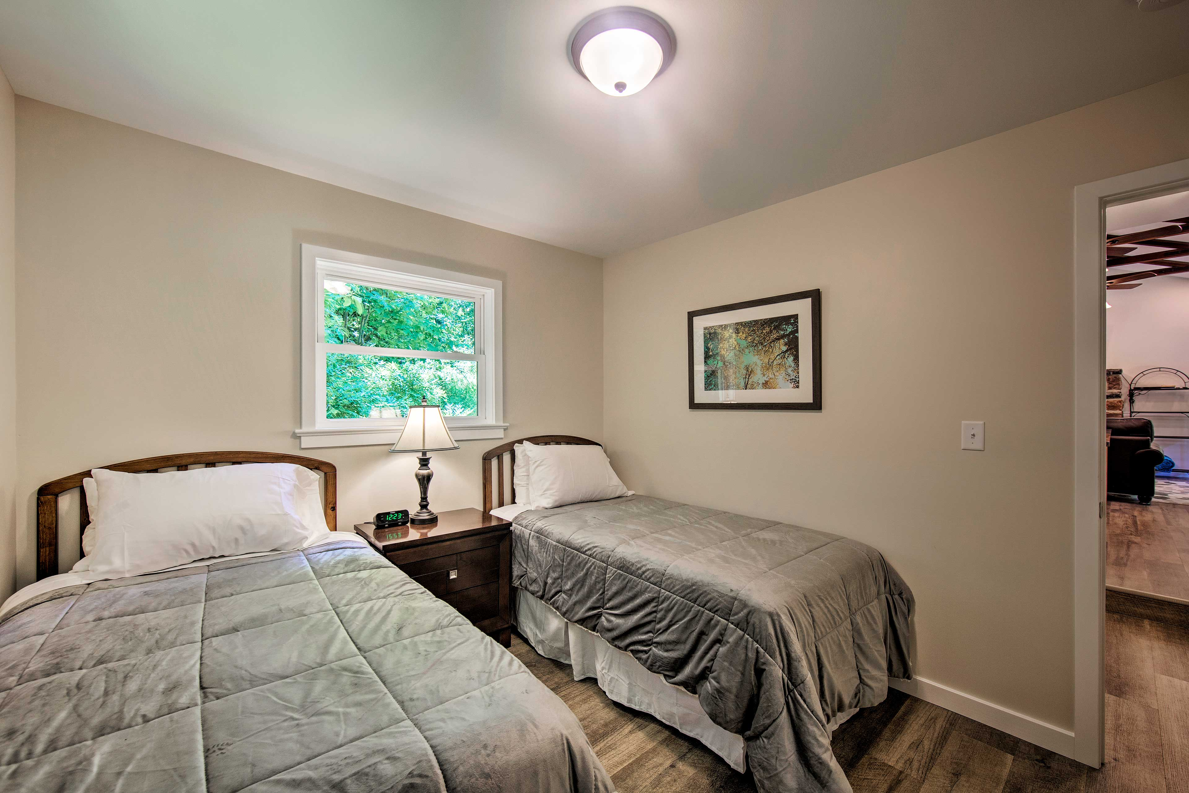 Traveling with kids? Let them stay in the third bedroom!
