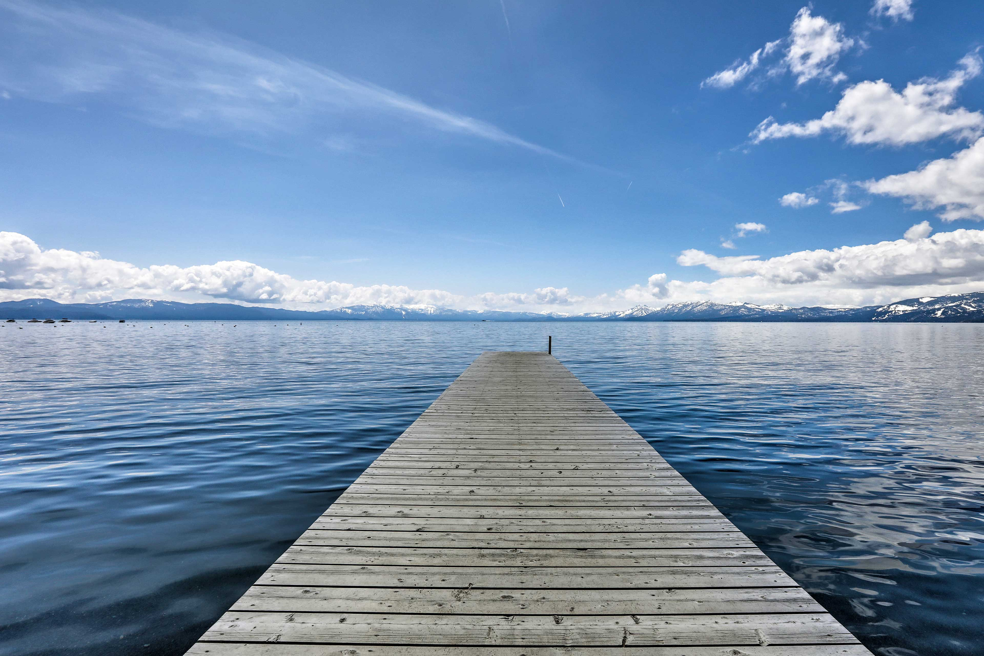 Lake Tahoe is the perfect escape.