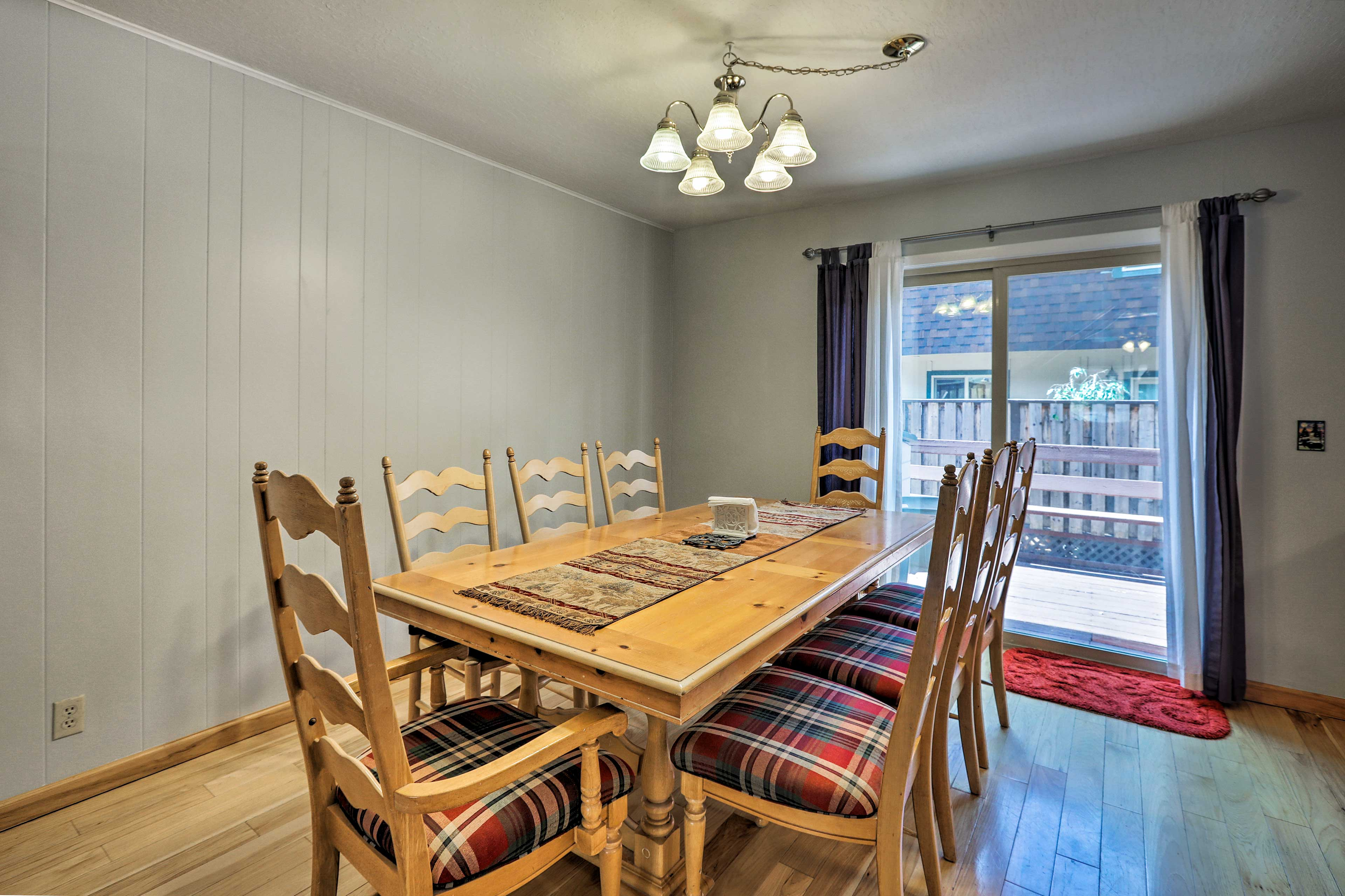 This vacation rental home makes for a great family getaway!