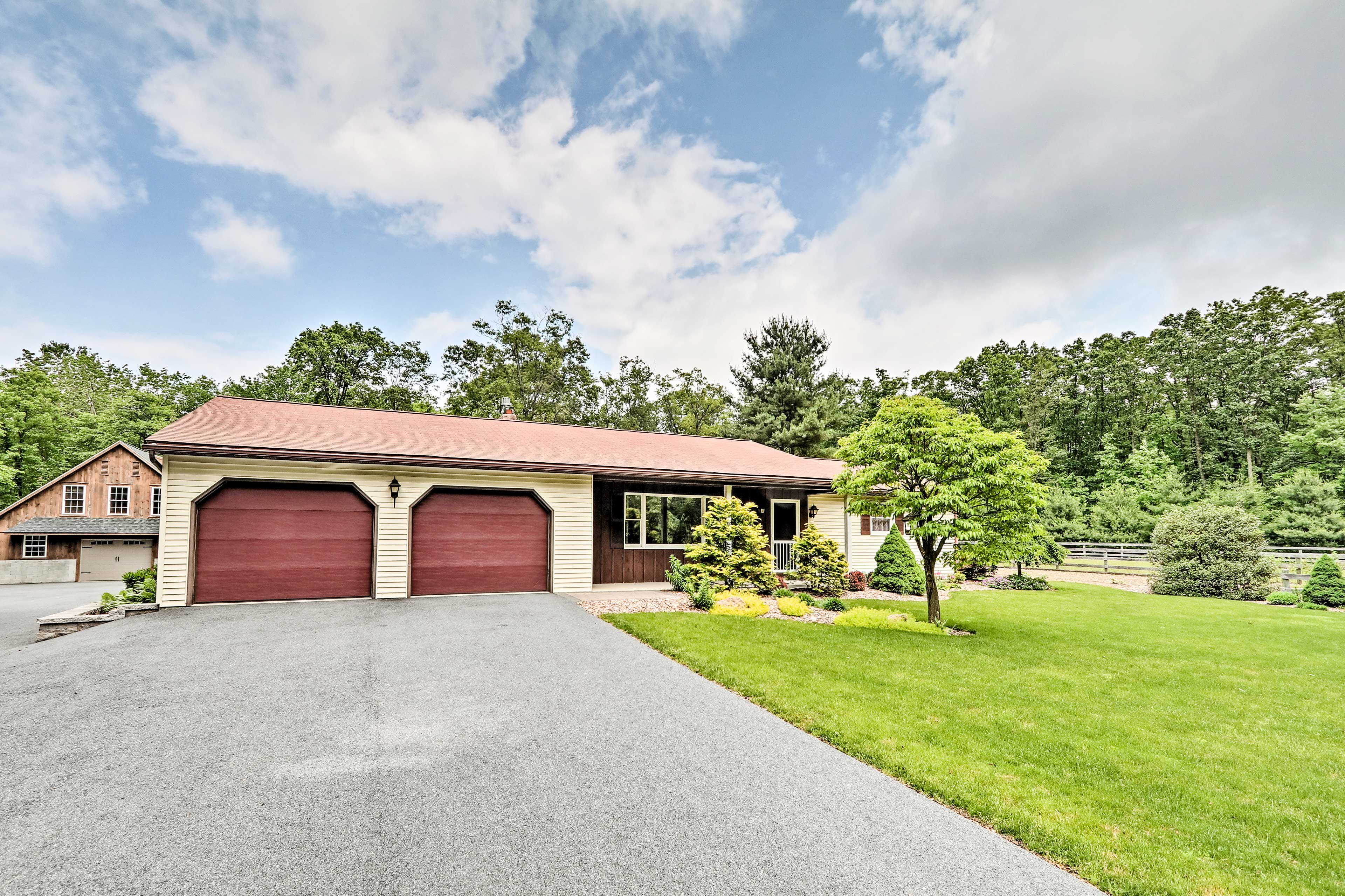 Escape to Dutch Country with a stay at this 4-bed, 2.5-bath home!