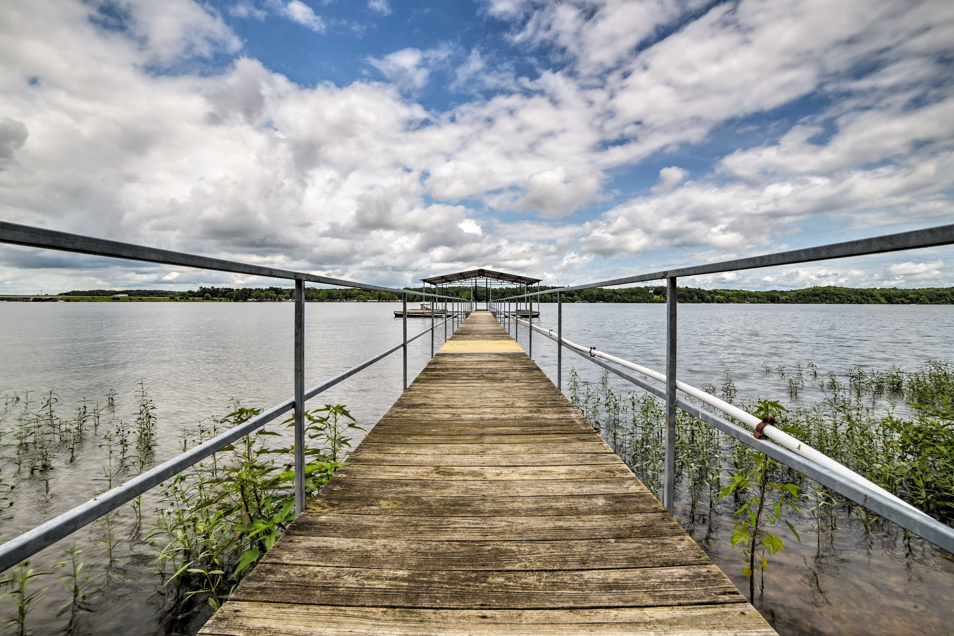 A private boat dock ensures endless adventures!