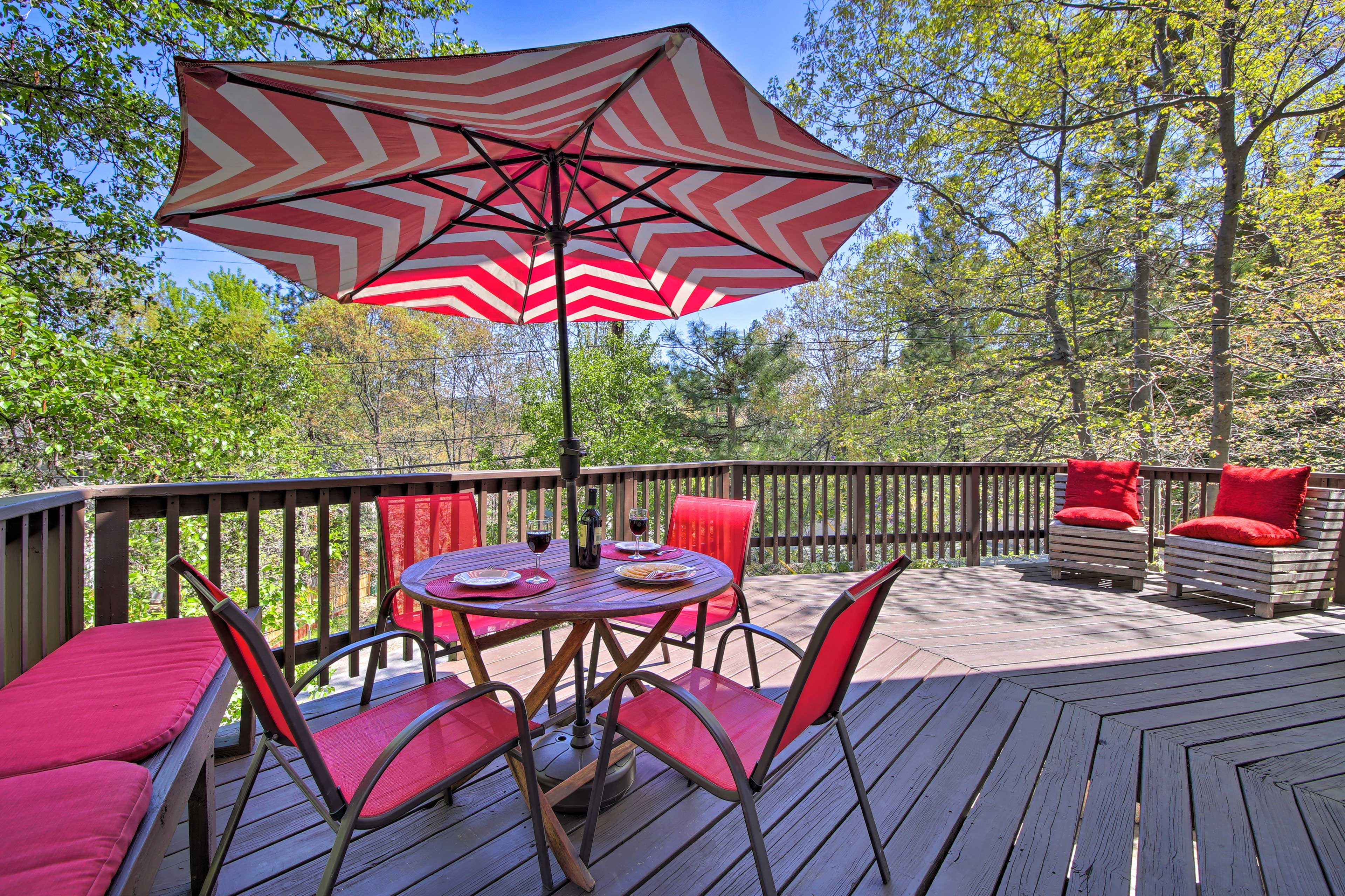 Escape to Lake Arrowhead at this 3-bedroom, 2.5-bath vacation rental home!