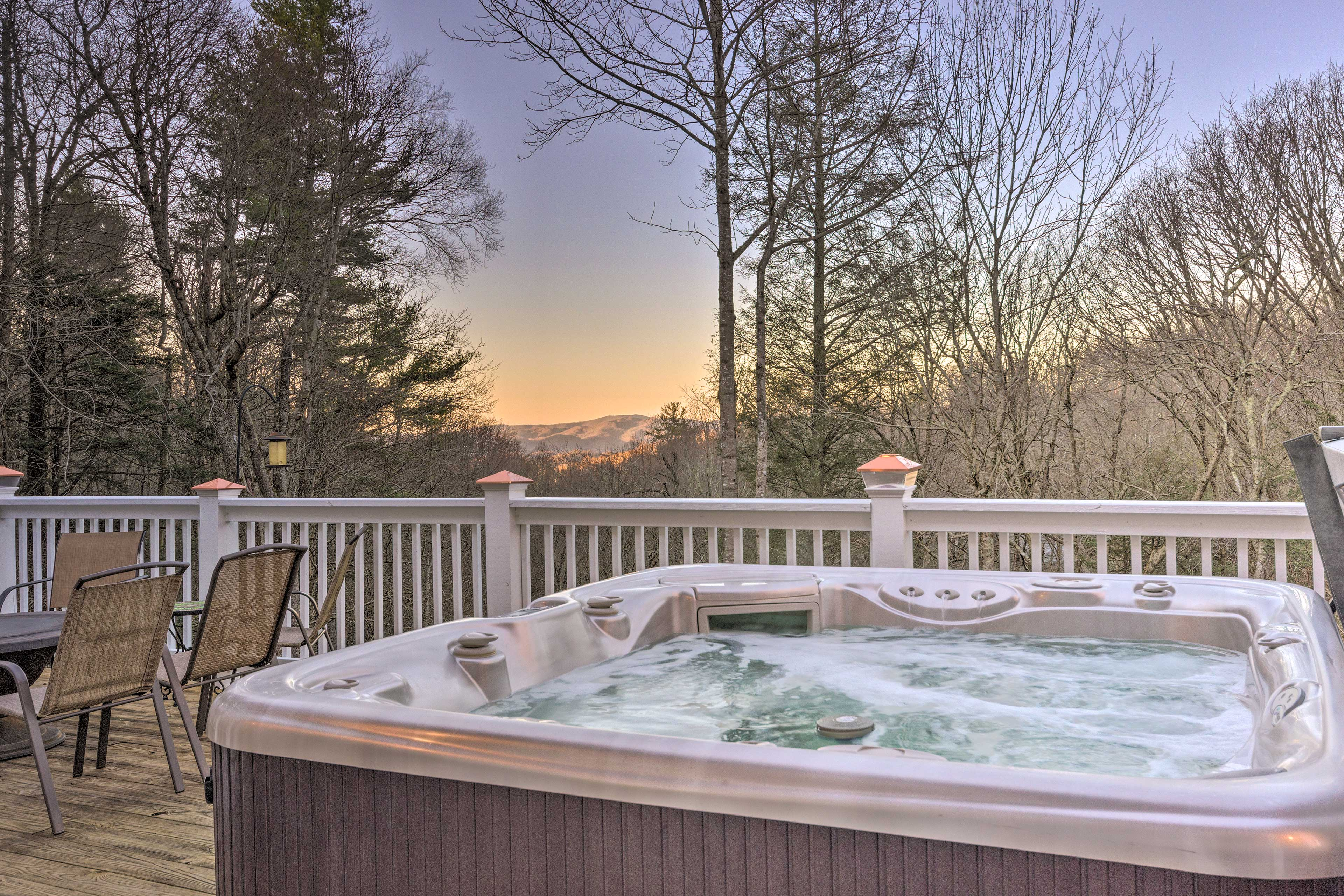 Property Exterior   Private Hot Tub