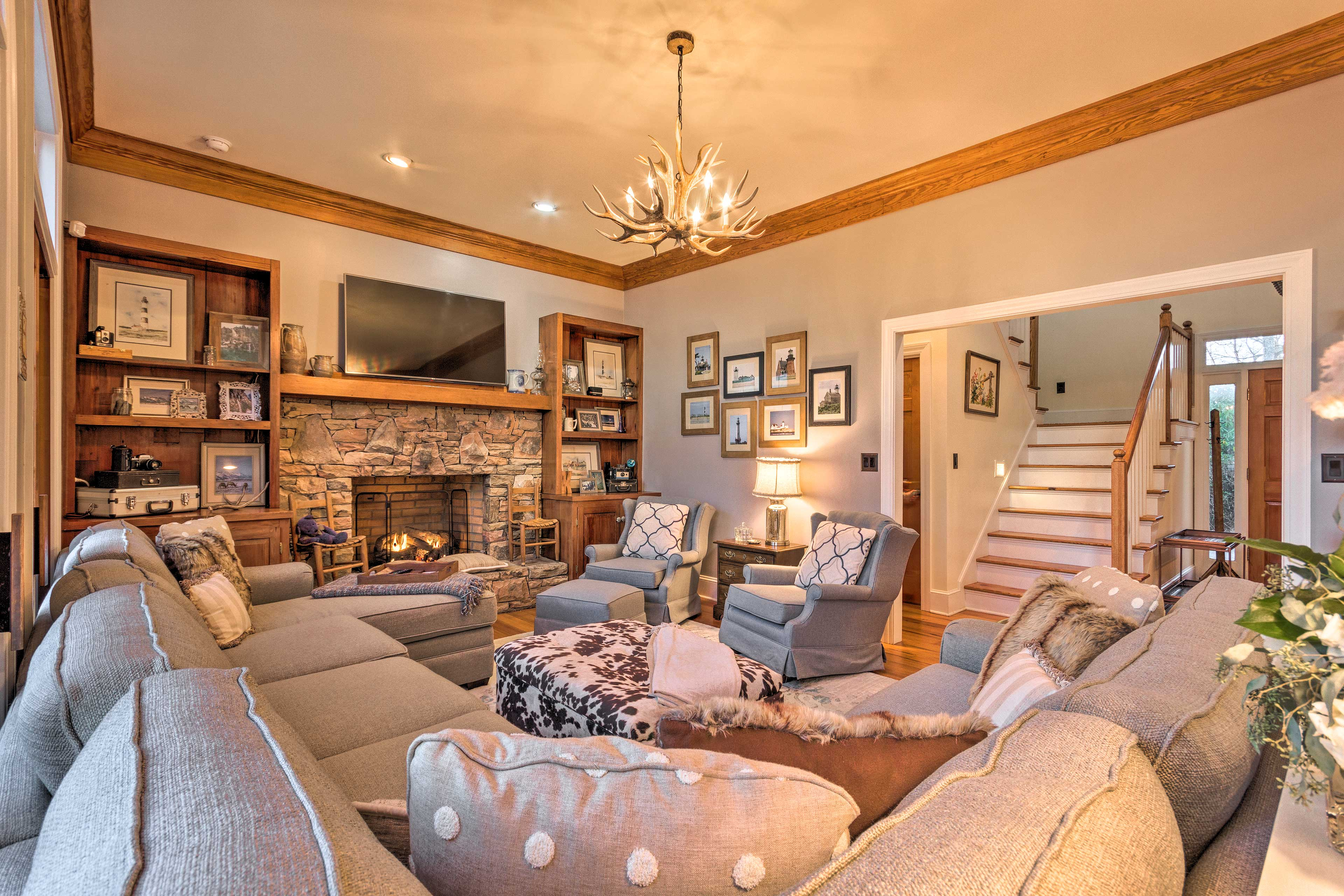 Boone Vacation Rental   5BR   4.5BA   3,900 Sq Ft   Steps Required to Access
