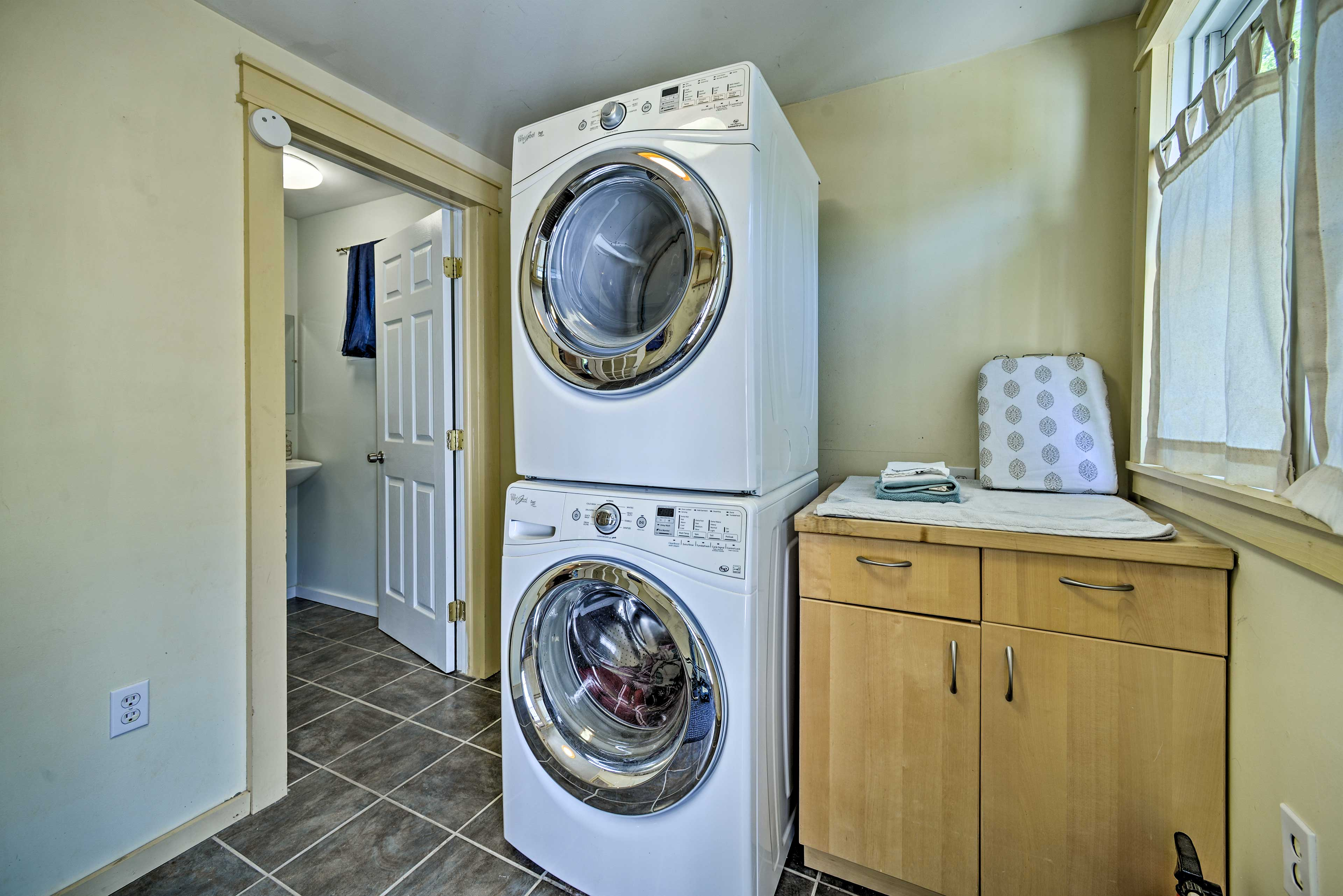 Keep your clothes clean during extended stays.