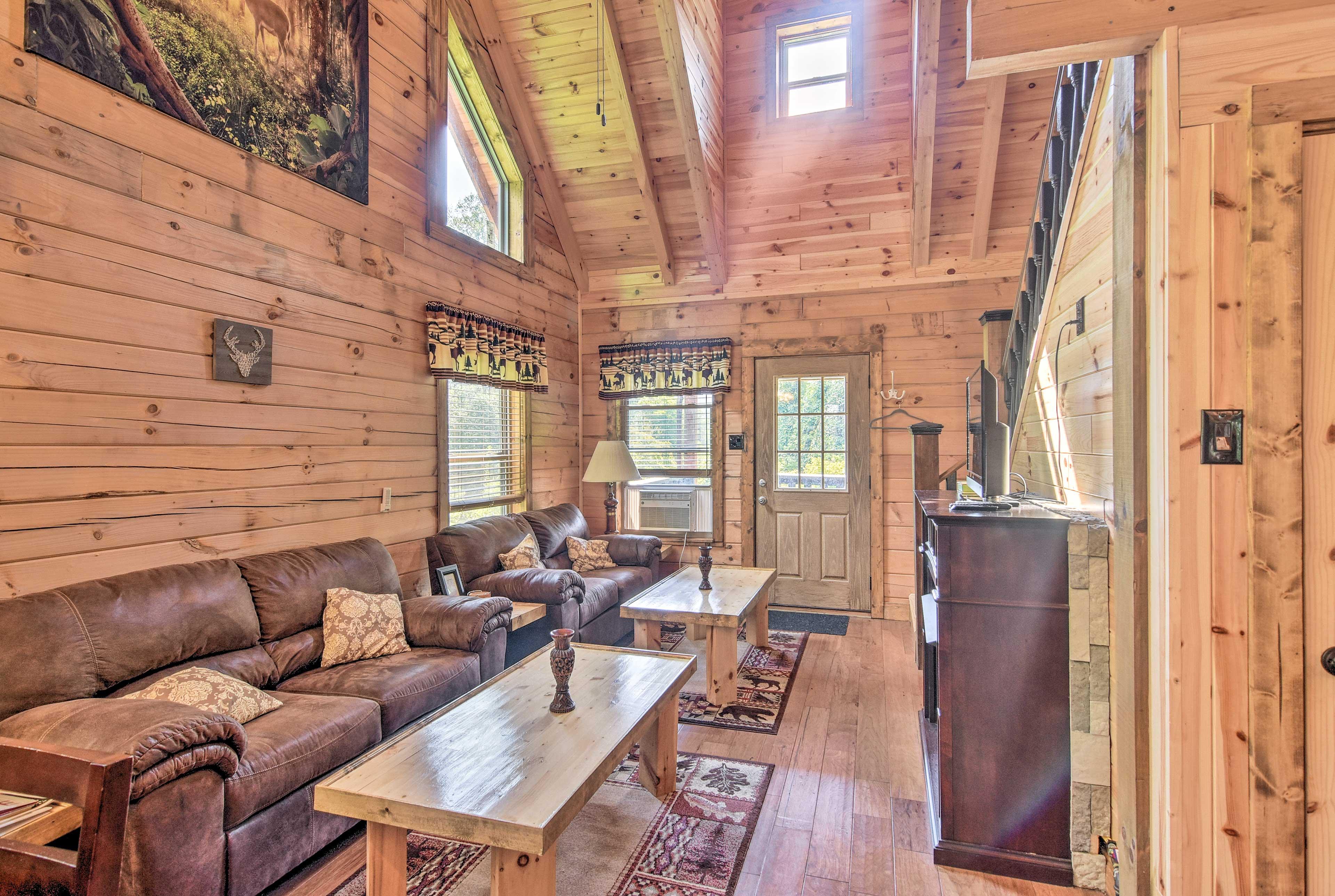 The high ceilings make this home feel super spacious!
