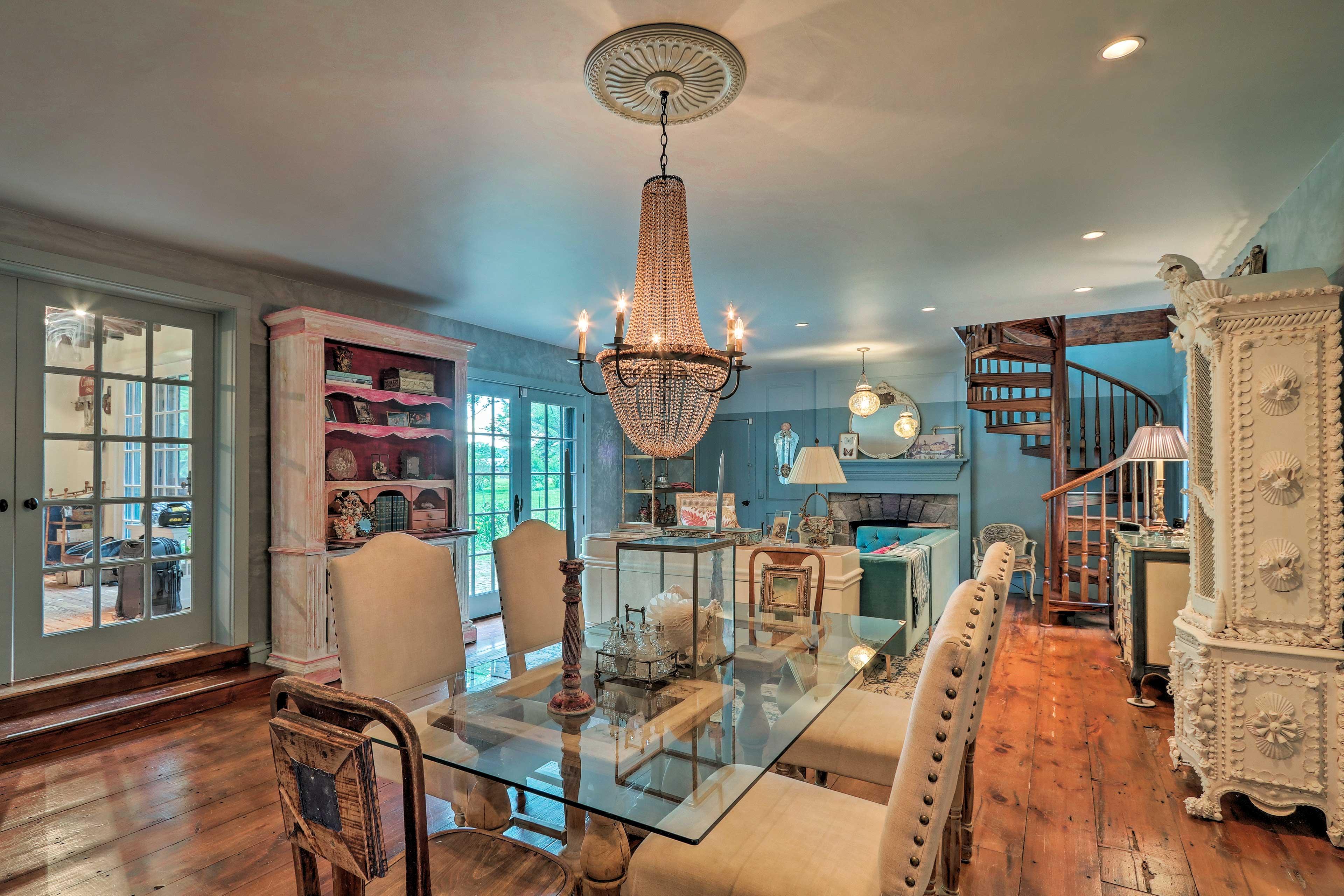 An elegant getaway awaits at this Stockton vacation rental.