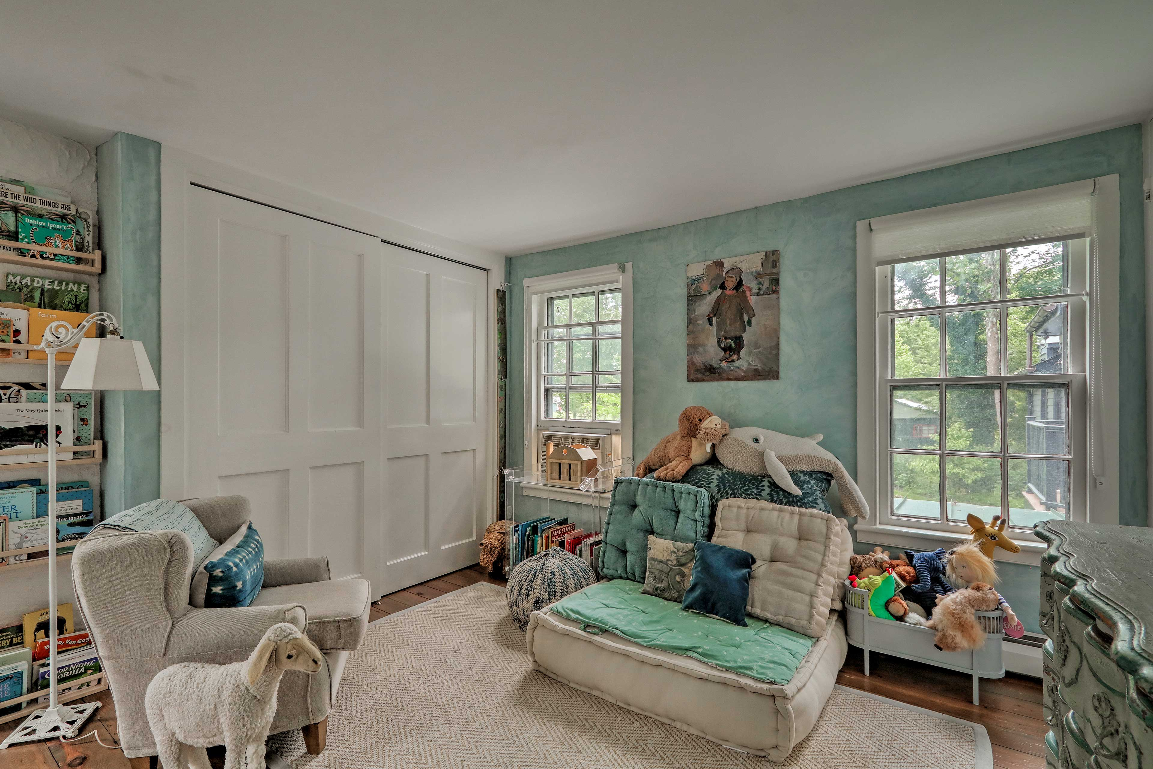 The kids will love this room.
