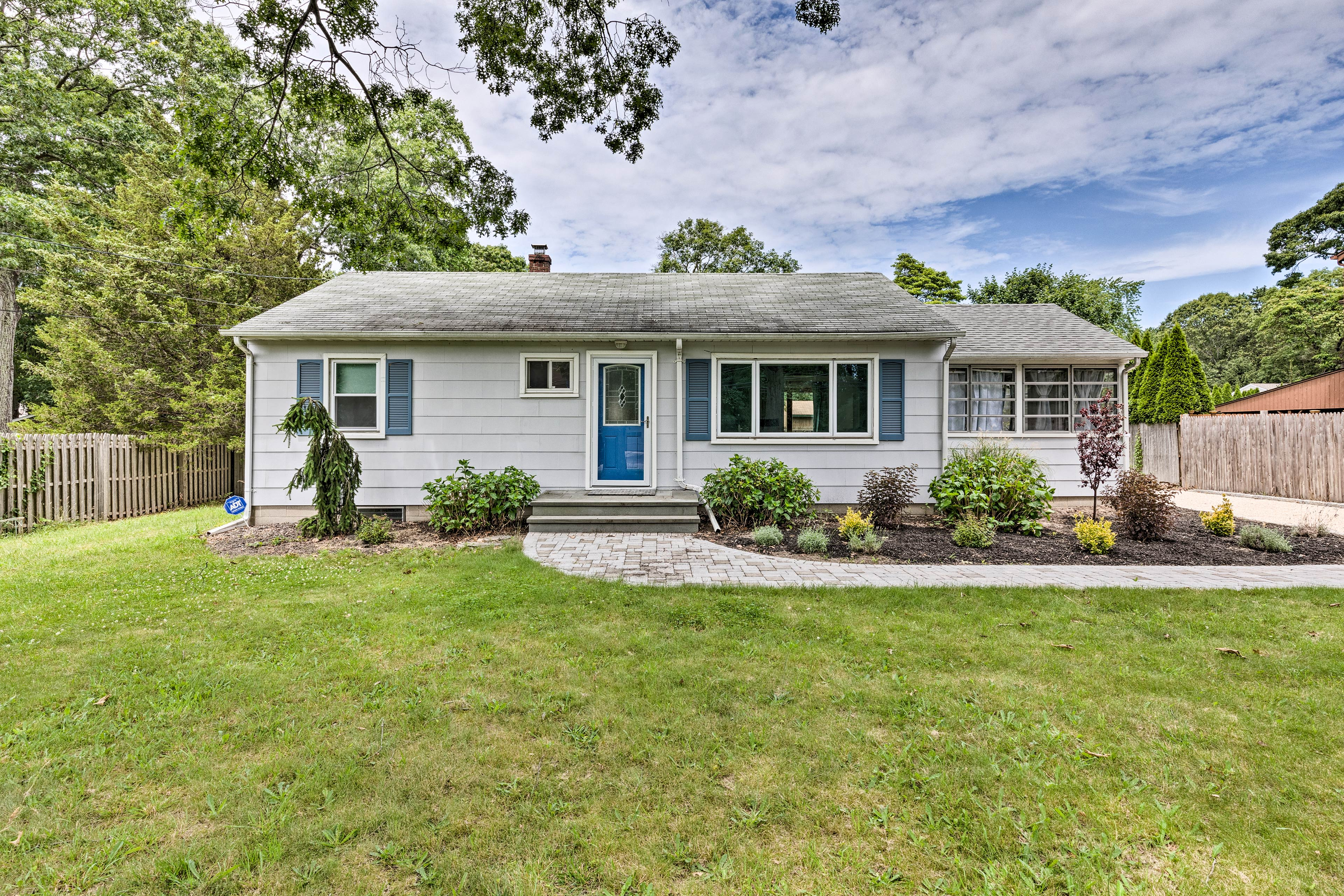 This property is situated near Montauk Highway for easy access to attractions!