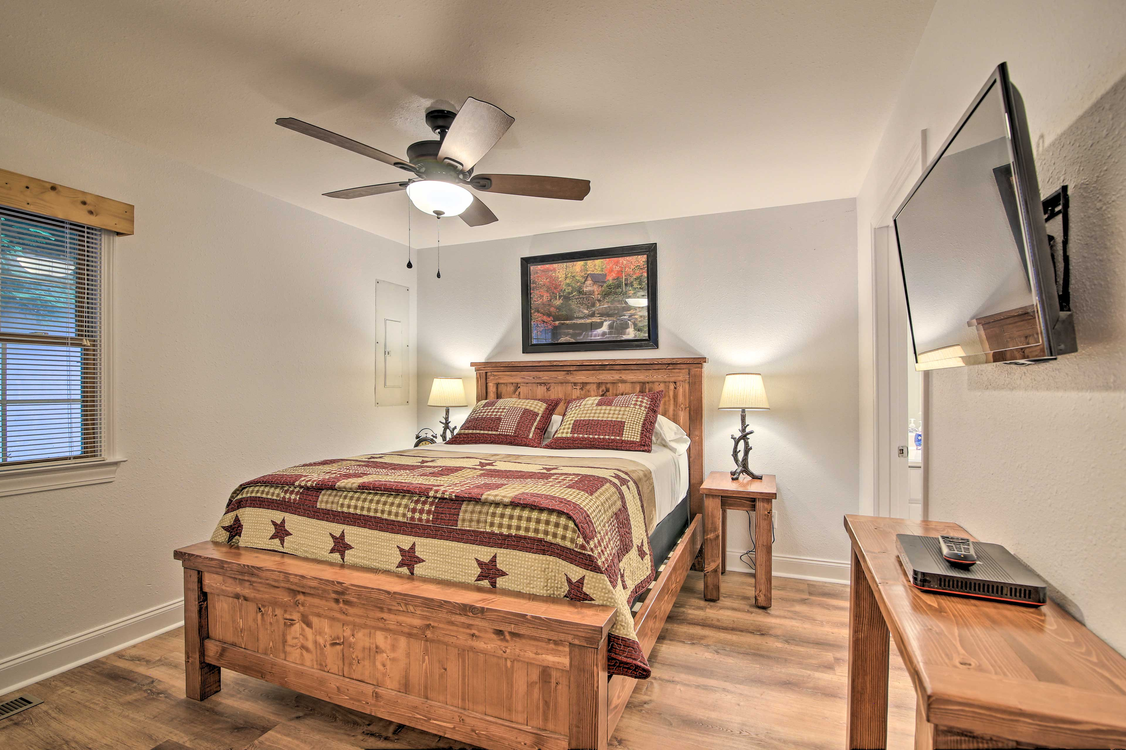 The master bedroom is calling your name.