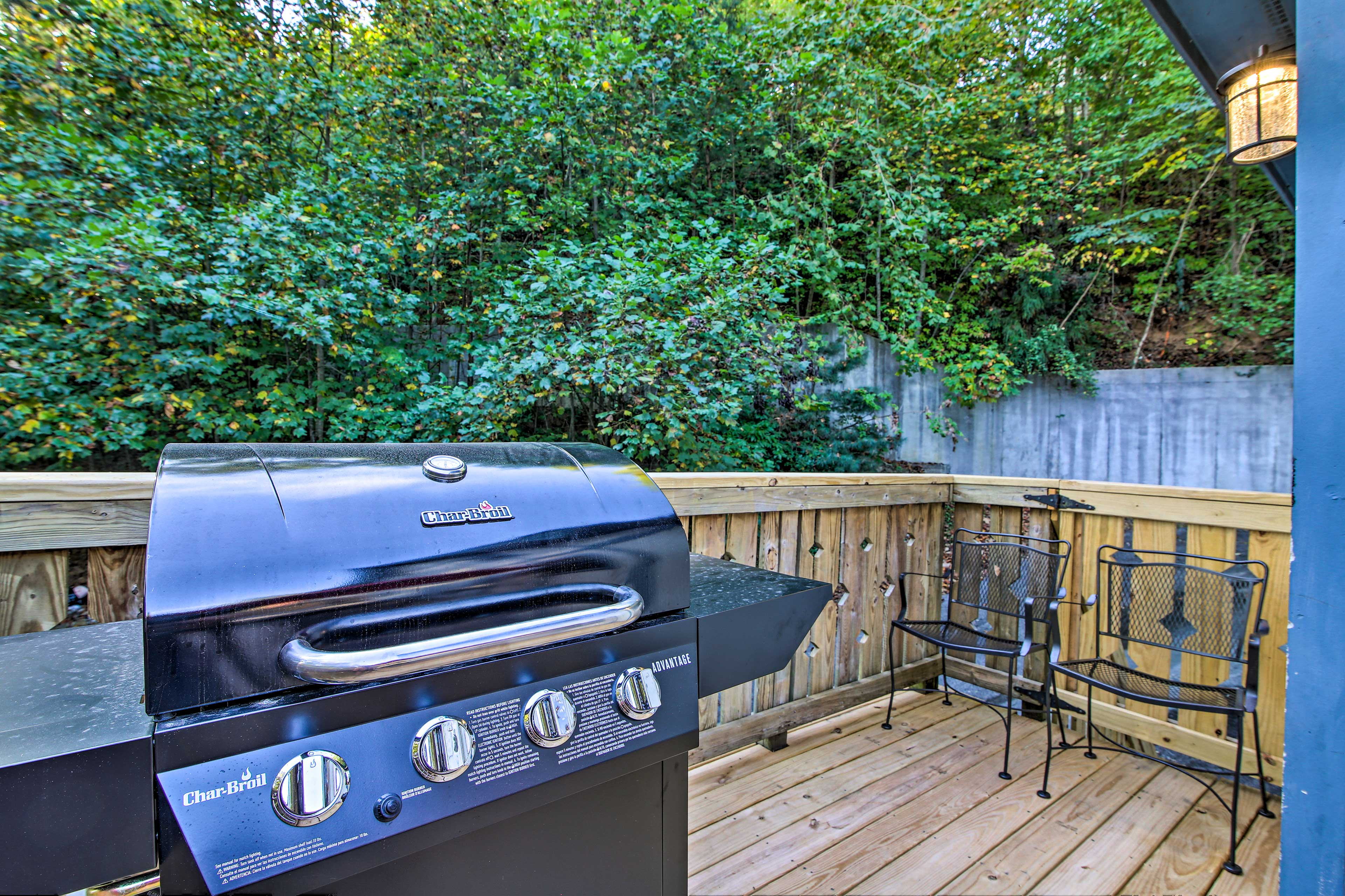 Fire up the grill and have a cook out.