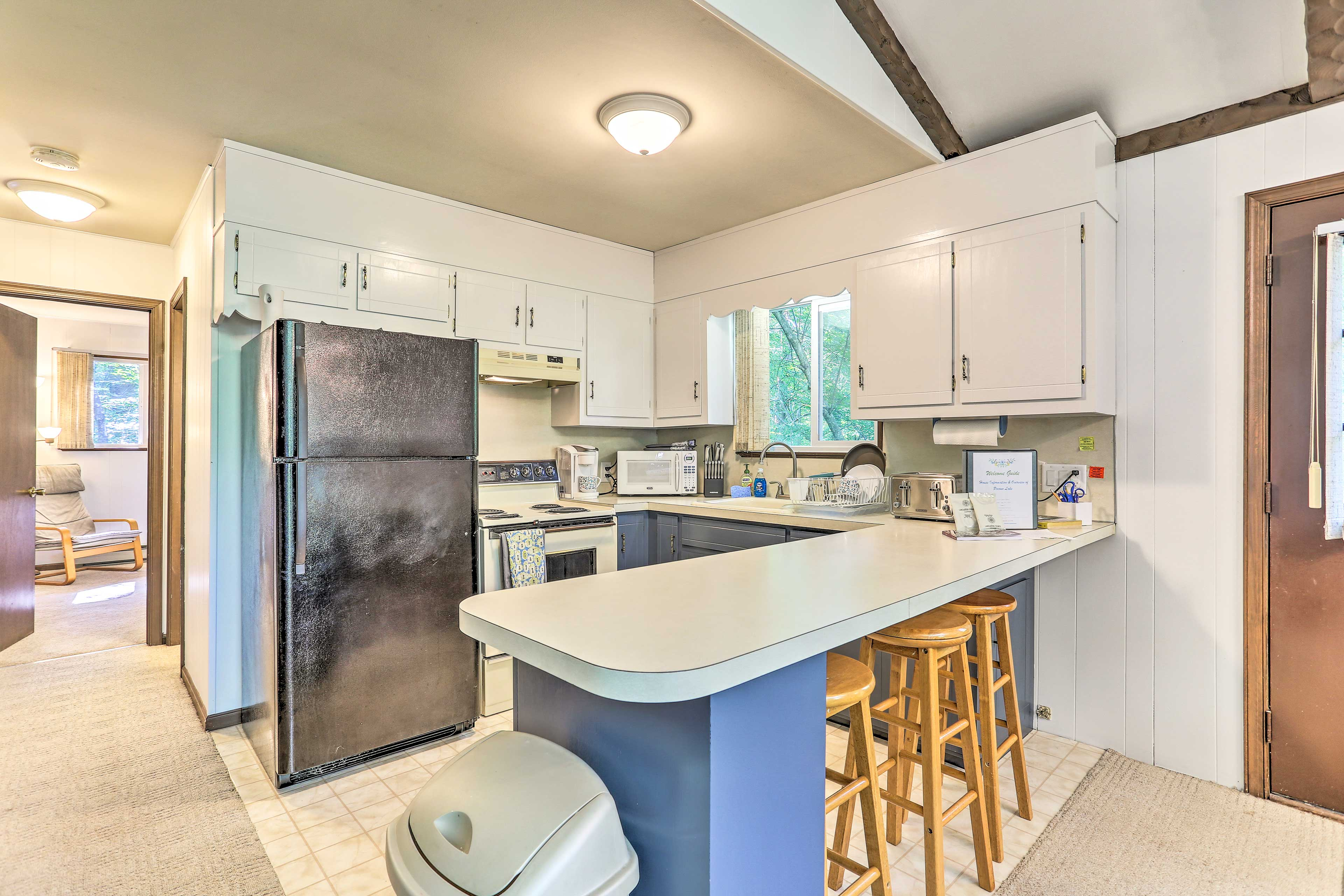 Kitchen | Fully Equipped | Cooking Essentials