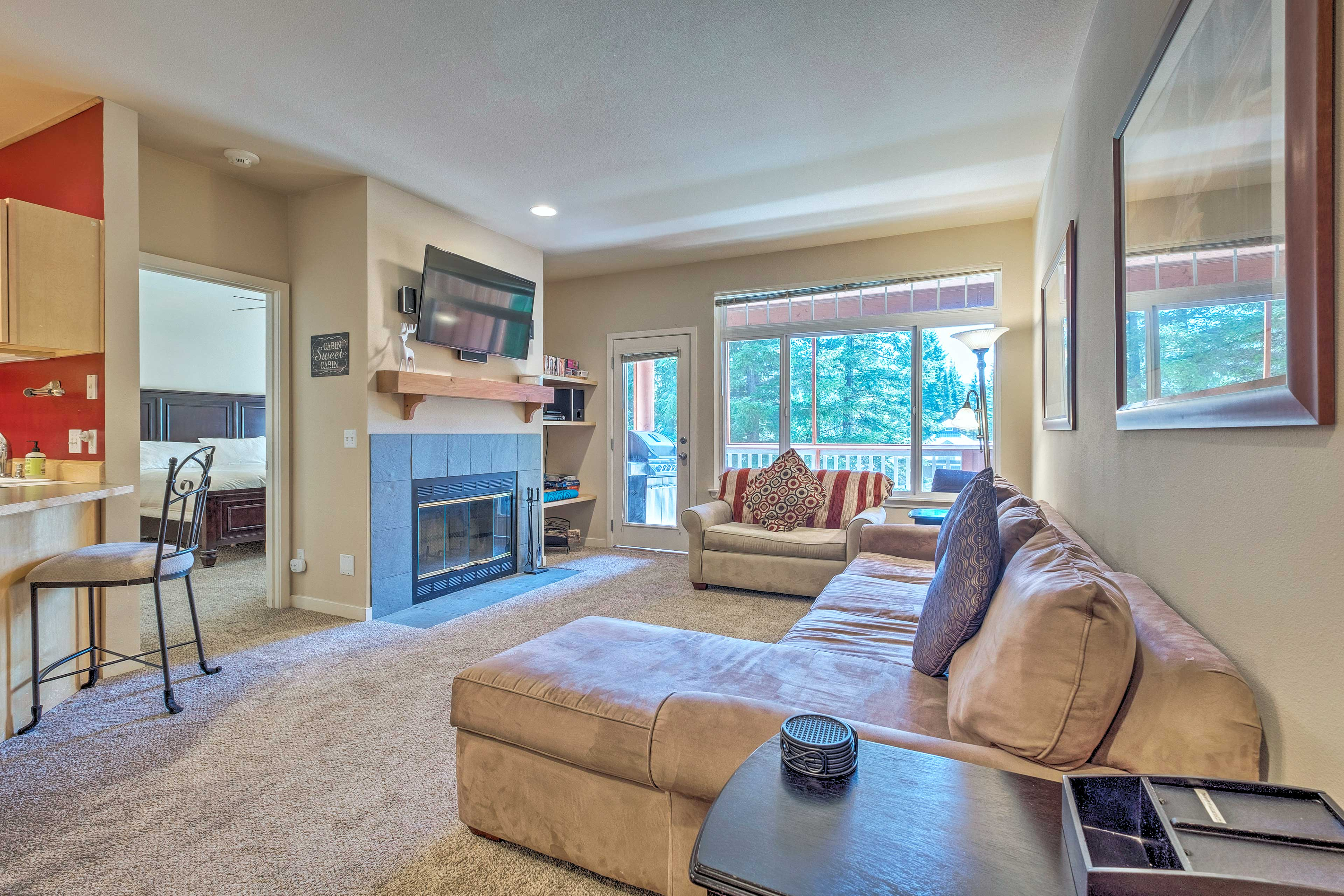 Leave your worries at the door of this Leavenworth vacation rental!