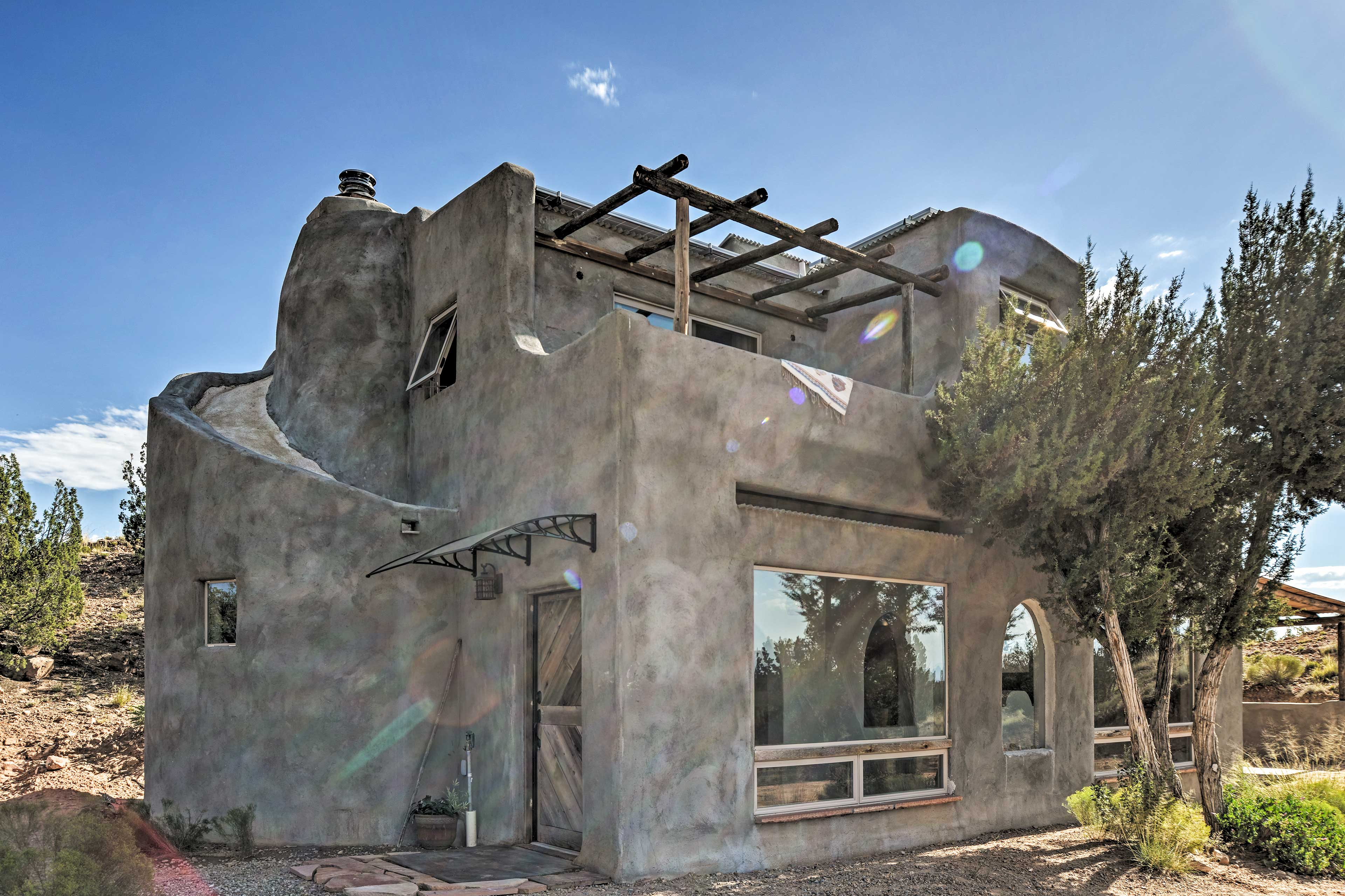 Make this unique San Ysidro property your home-away-from-home.
