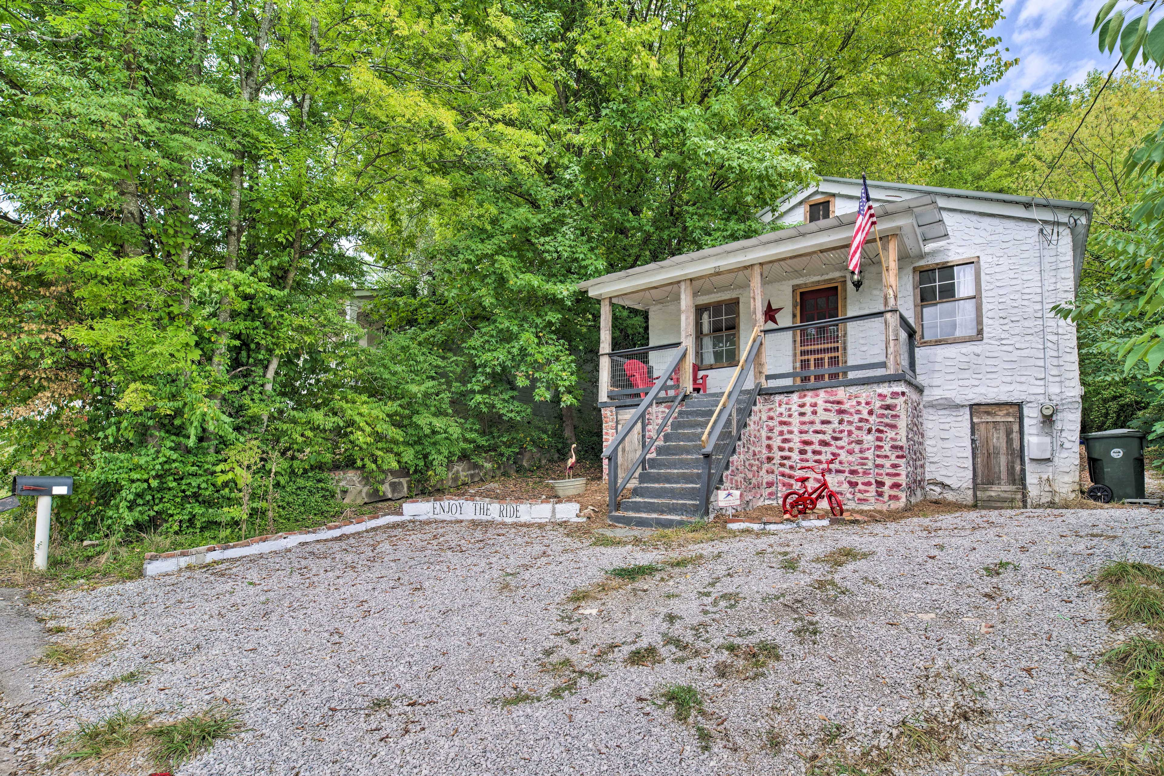 Enjoy the ride at this vacation rental house in Chattanooga!
