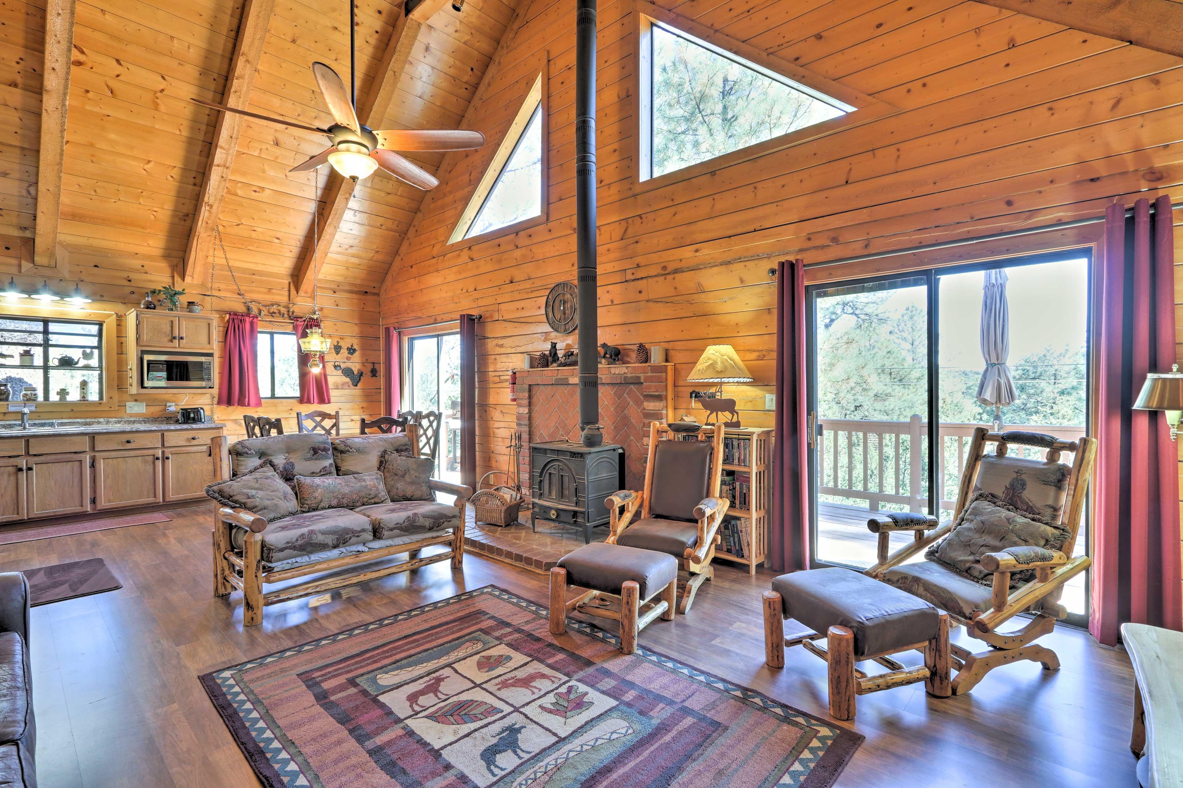 Come visit this 3-bedroom, 2-bathroom cabin in Herber Overgaard!