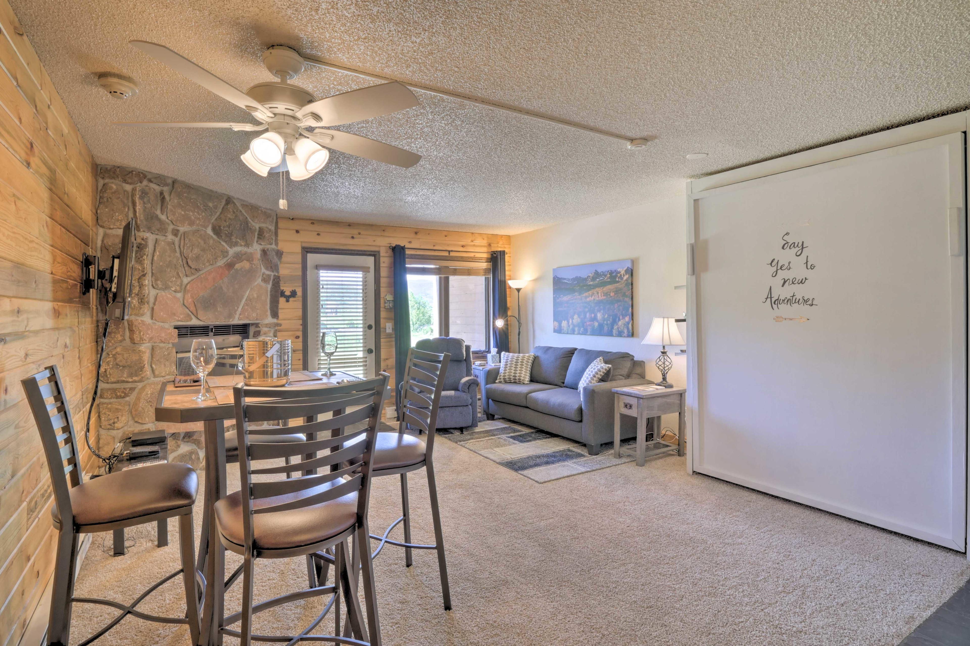 Step into your next home base for a Colorado mountain retreat.