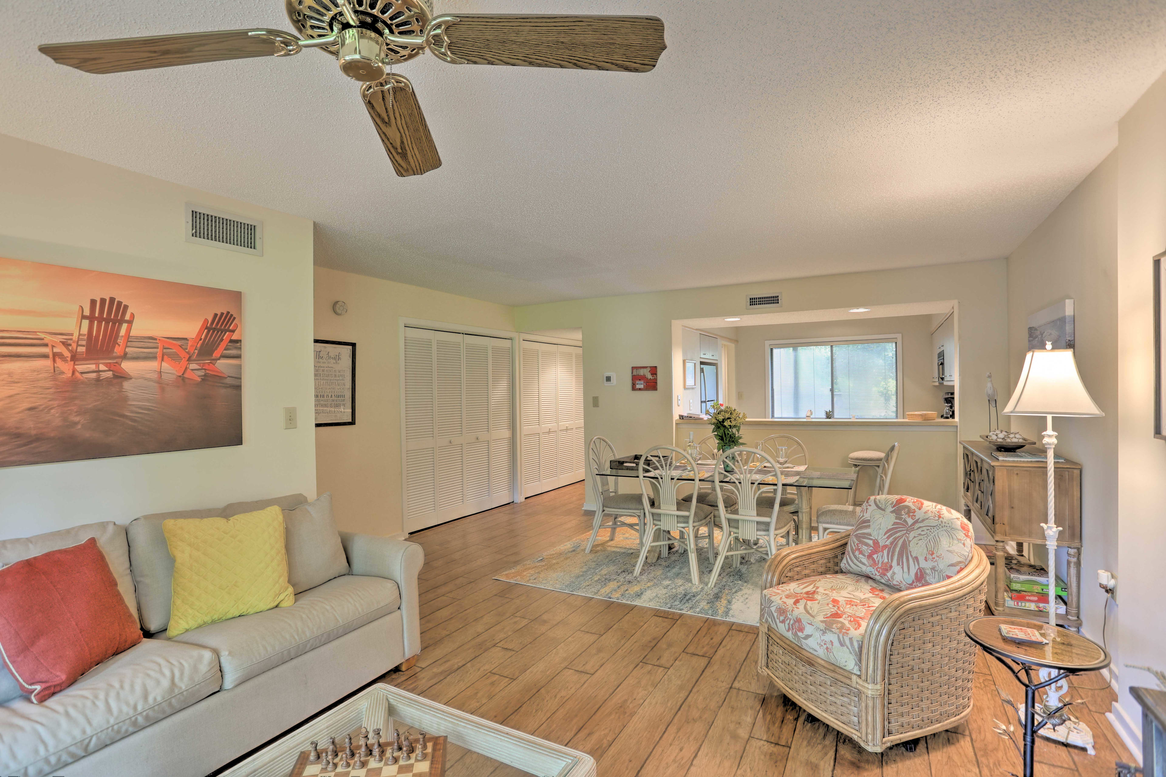 Living Room | Board Games Provided