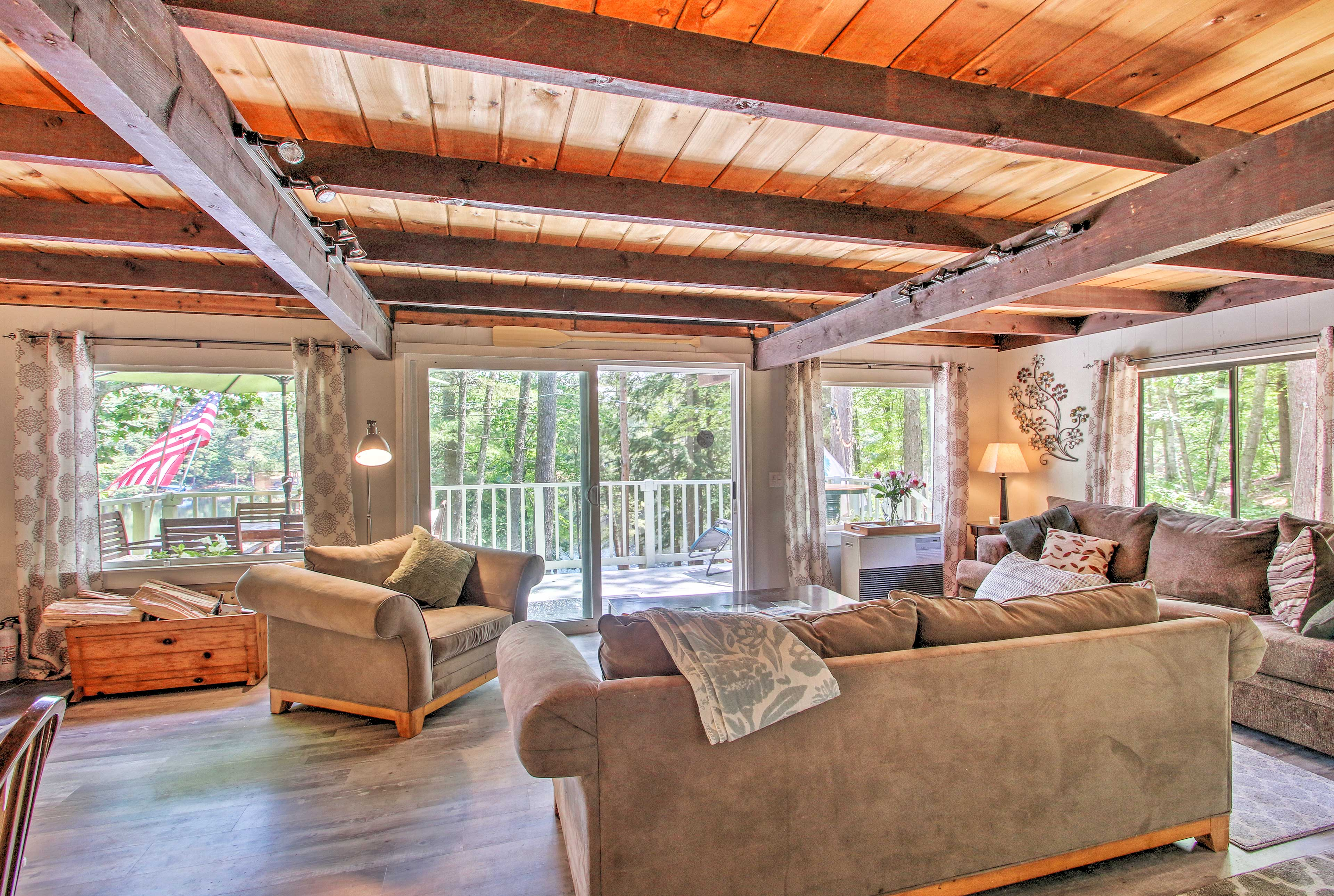 Relax and unwind with family and friends at this cozy vacation rental.