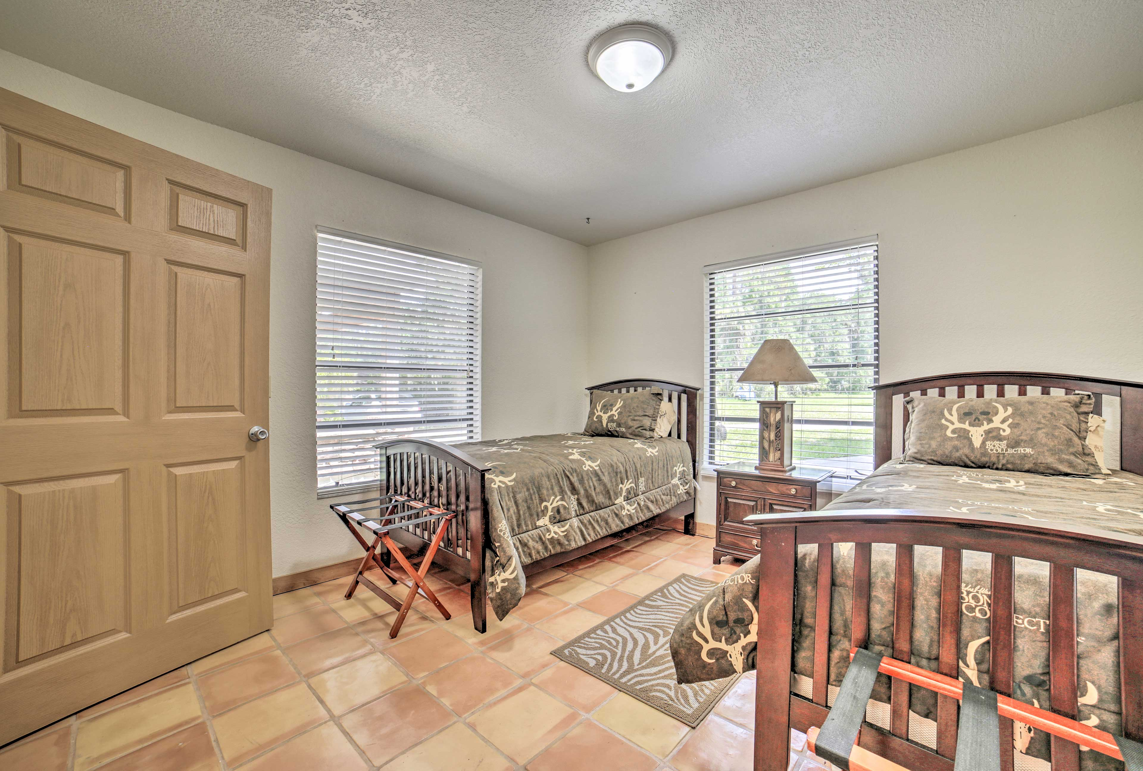 The final bedroom is perfect for teenagers or solo travelers.