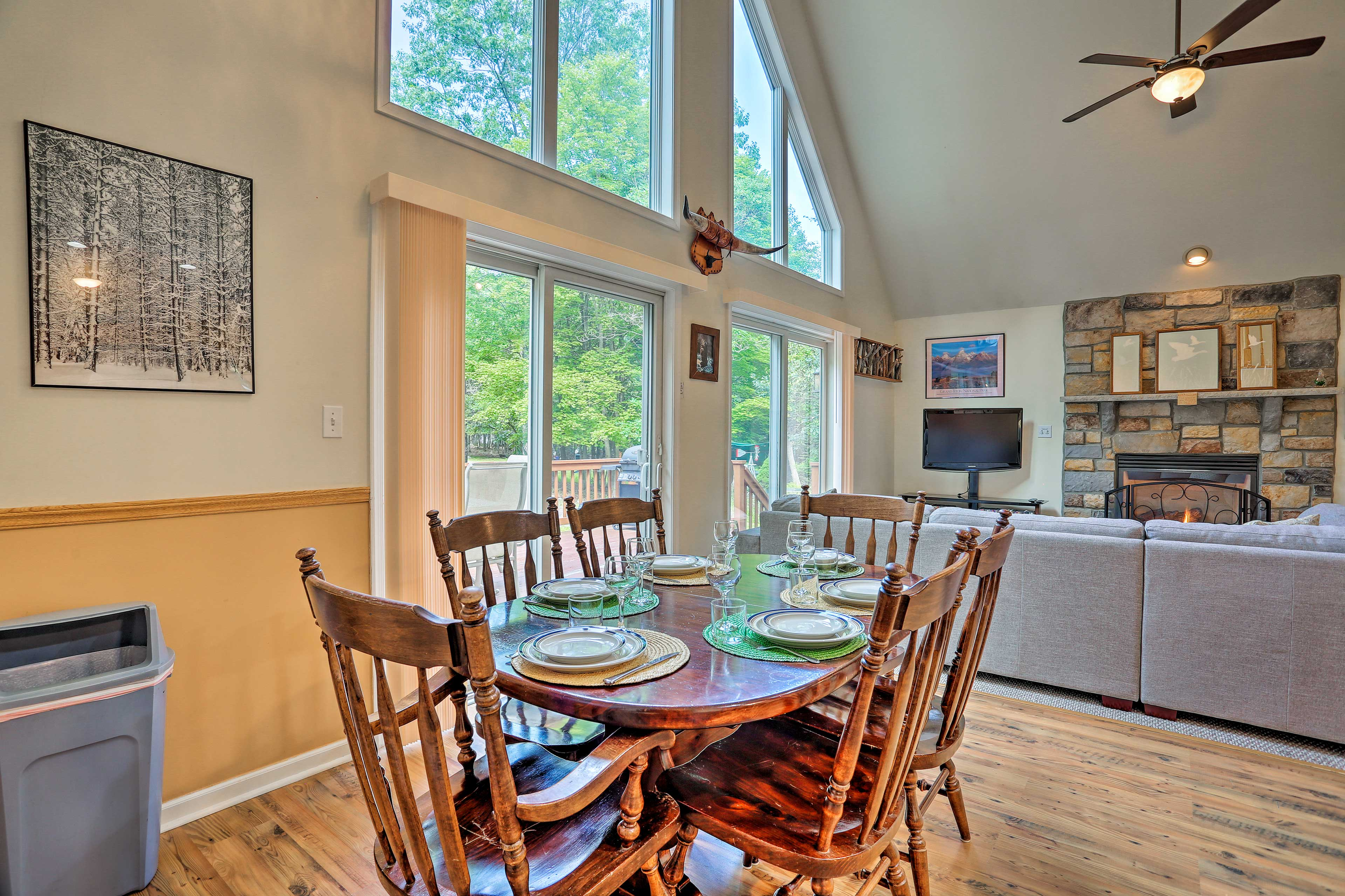 Gather around the dining table for a memorable meal!