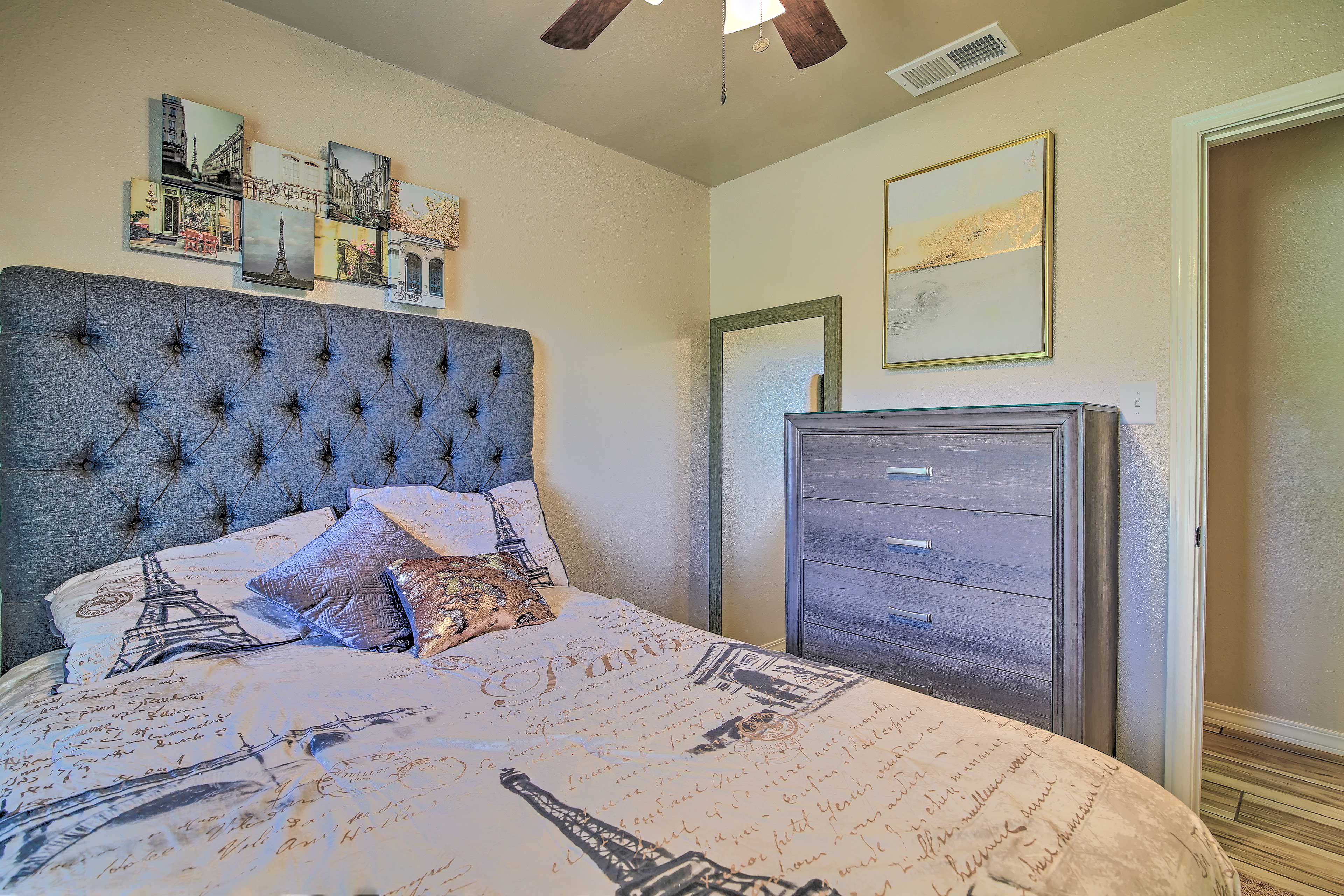 Sleep soundly in the third bedroom.