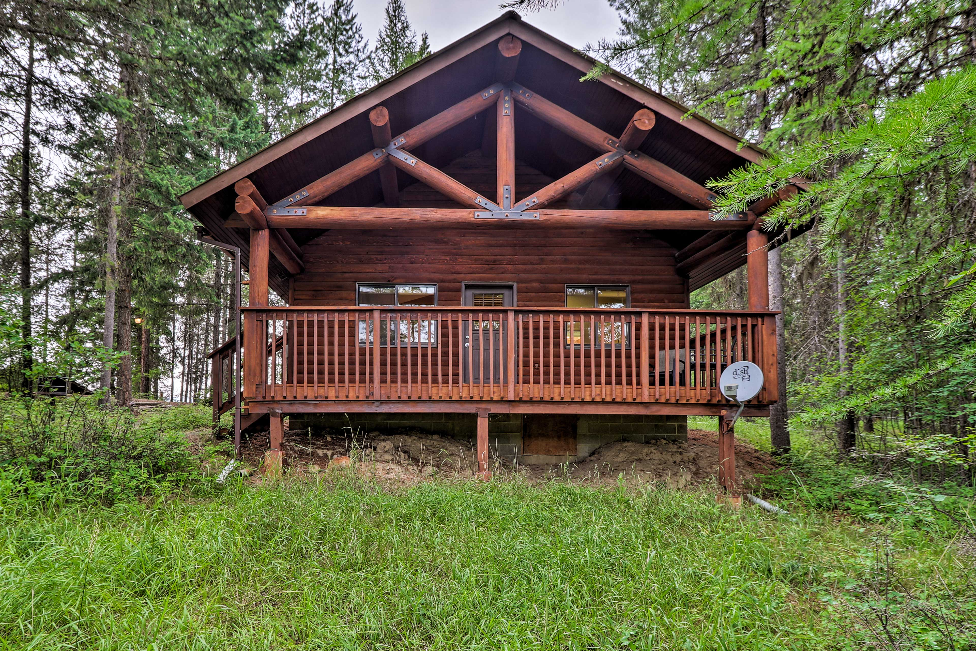 Escape to Trego for an authentic Montana experience!