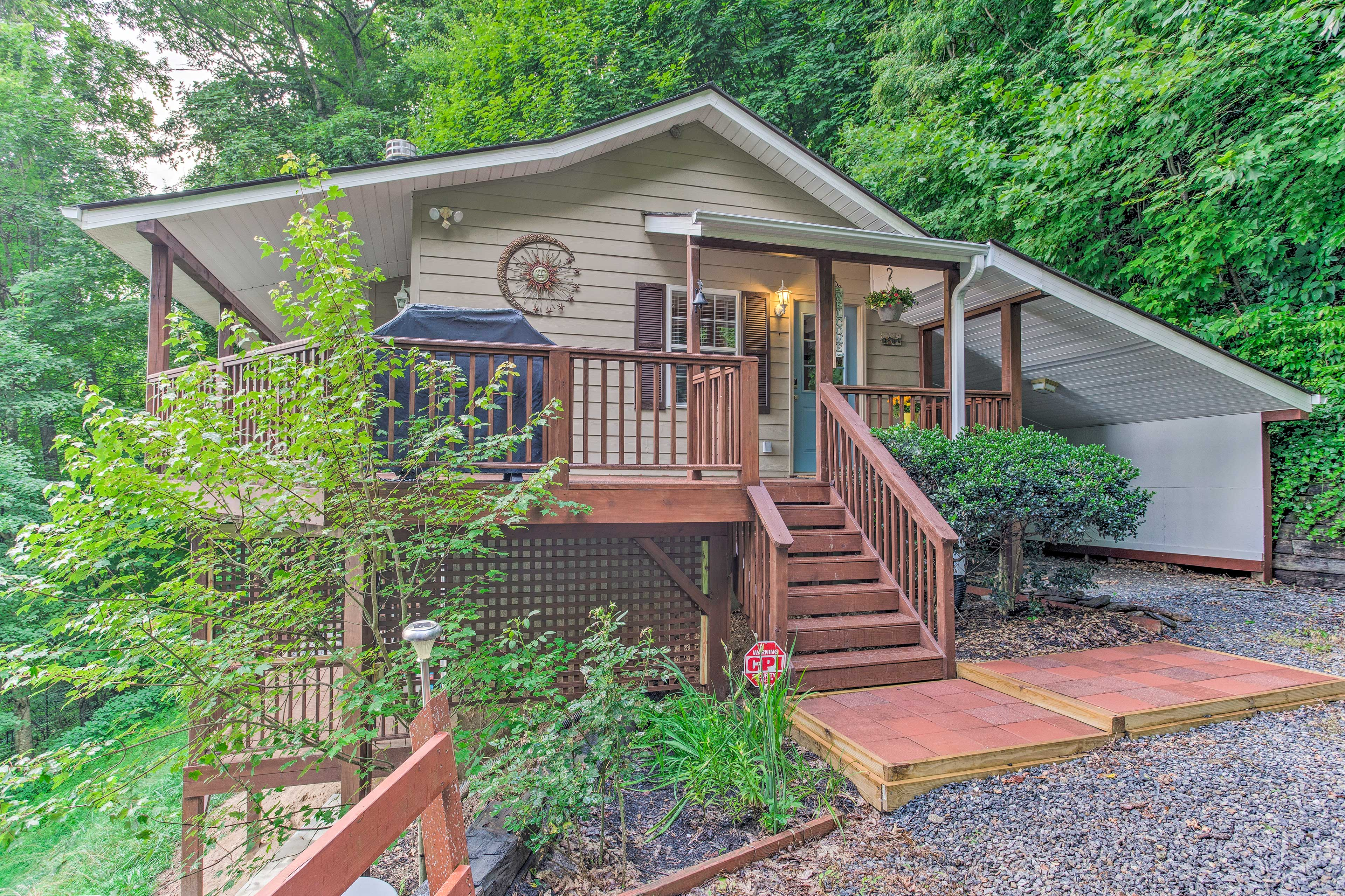 Exterior | Steps Required | Front Porch