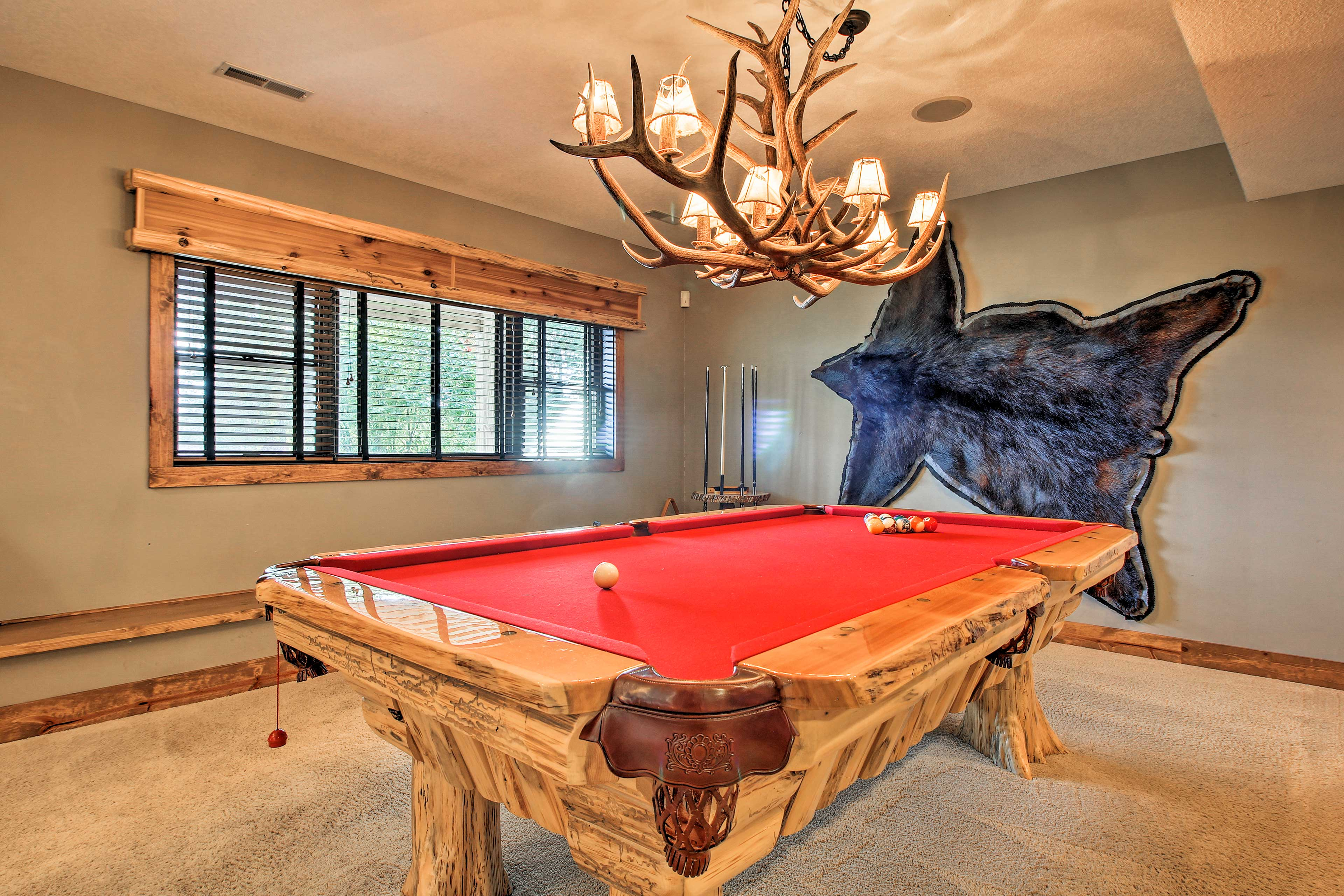 Rack up the table for some pool action!