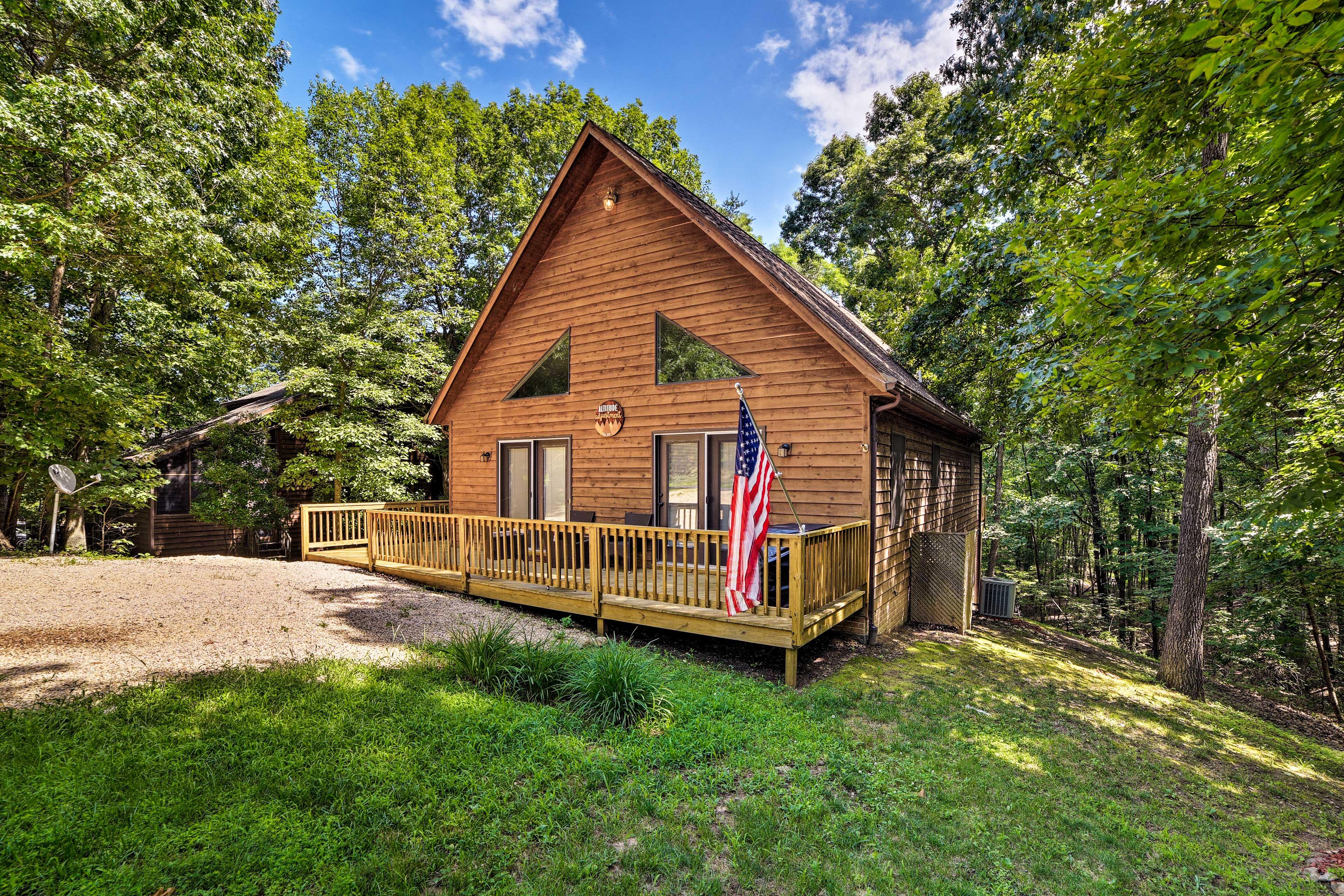 Skiing, mountain biking, hiking, & more outdoor activities surround the home.