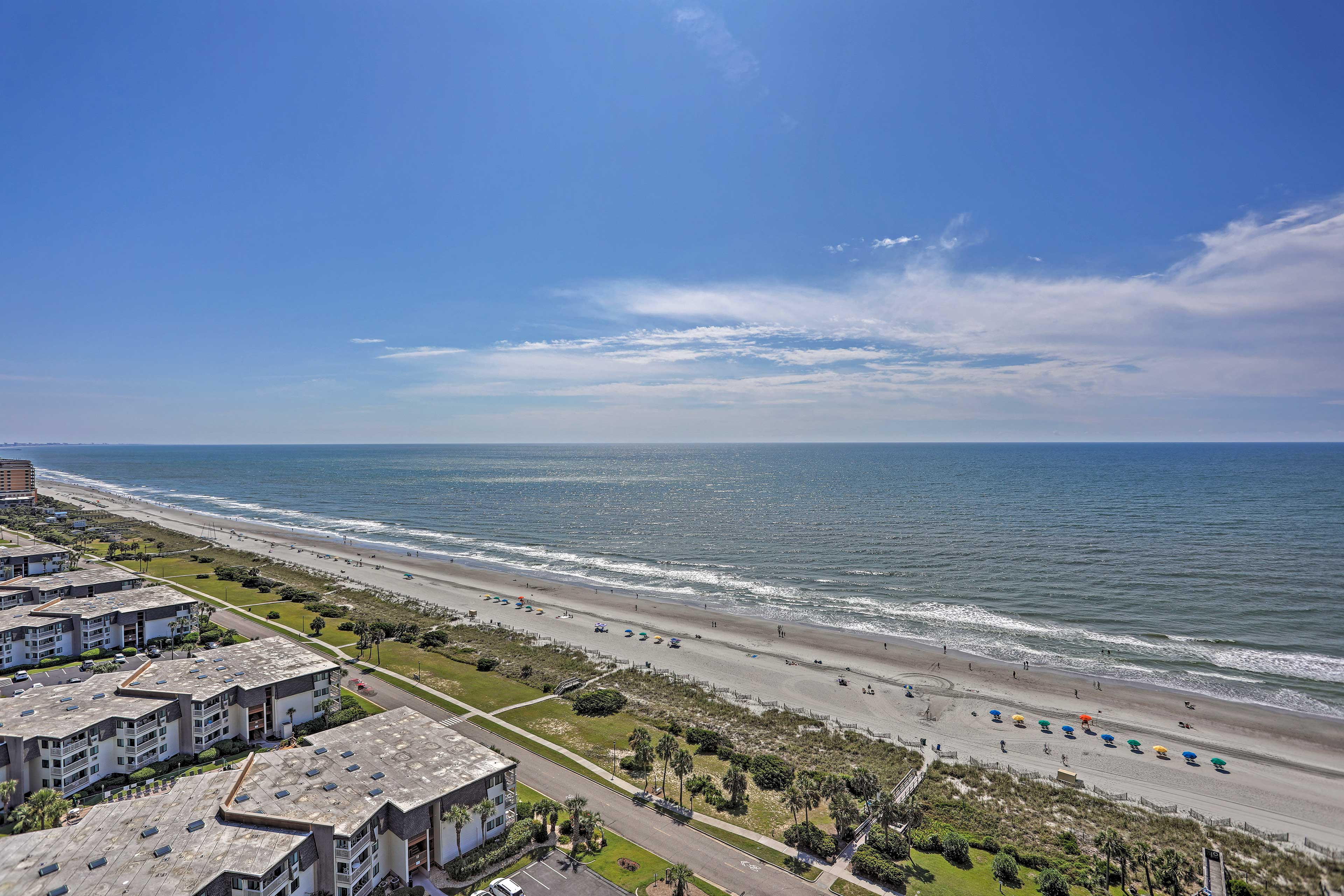 Take a stroll along the sands of Myrtle Beach.