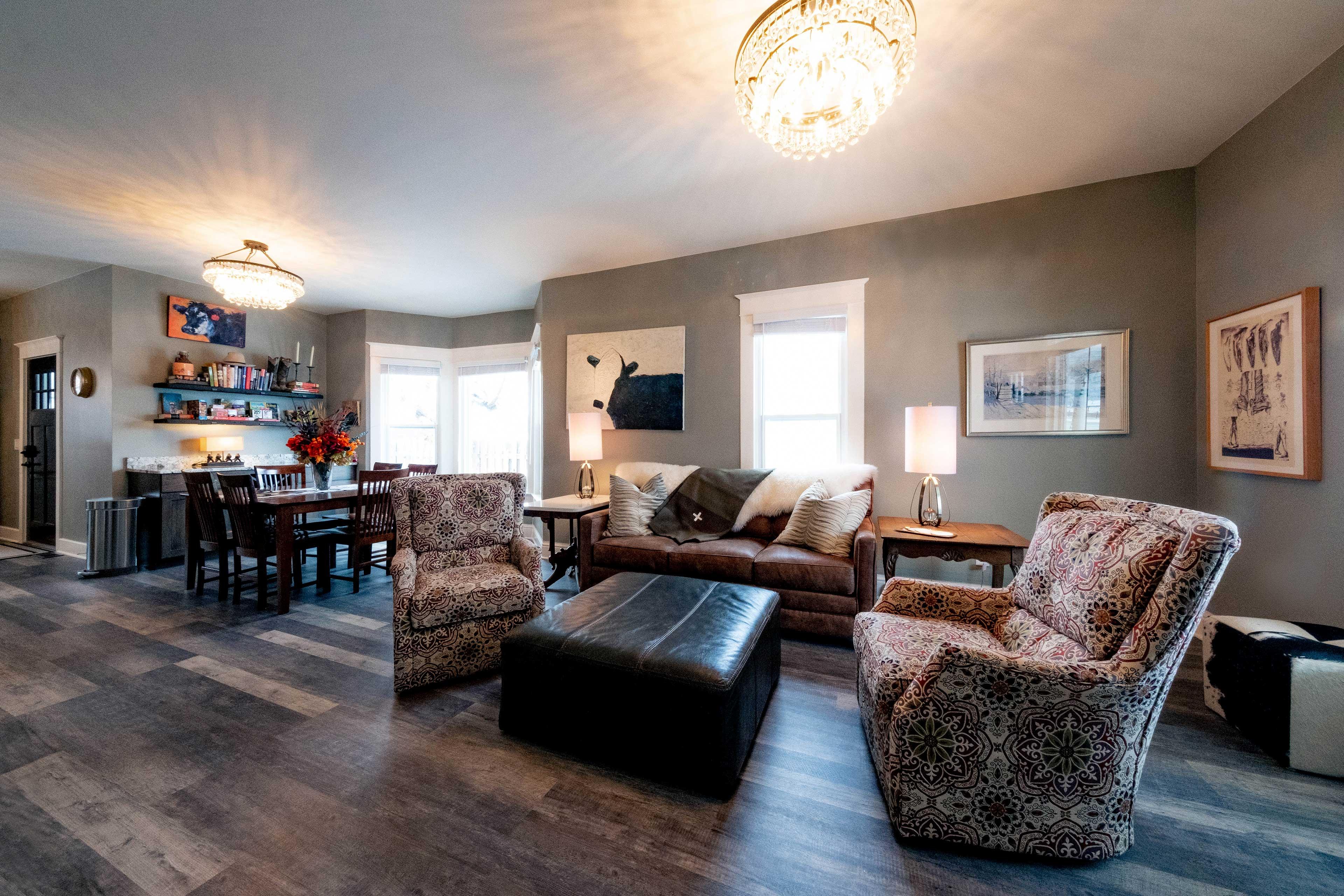 Sheridan Vacation Rental | 2BR | 1BA | 1,100 Sq Ft | Single-Story Home