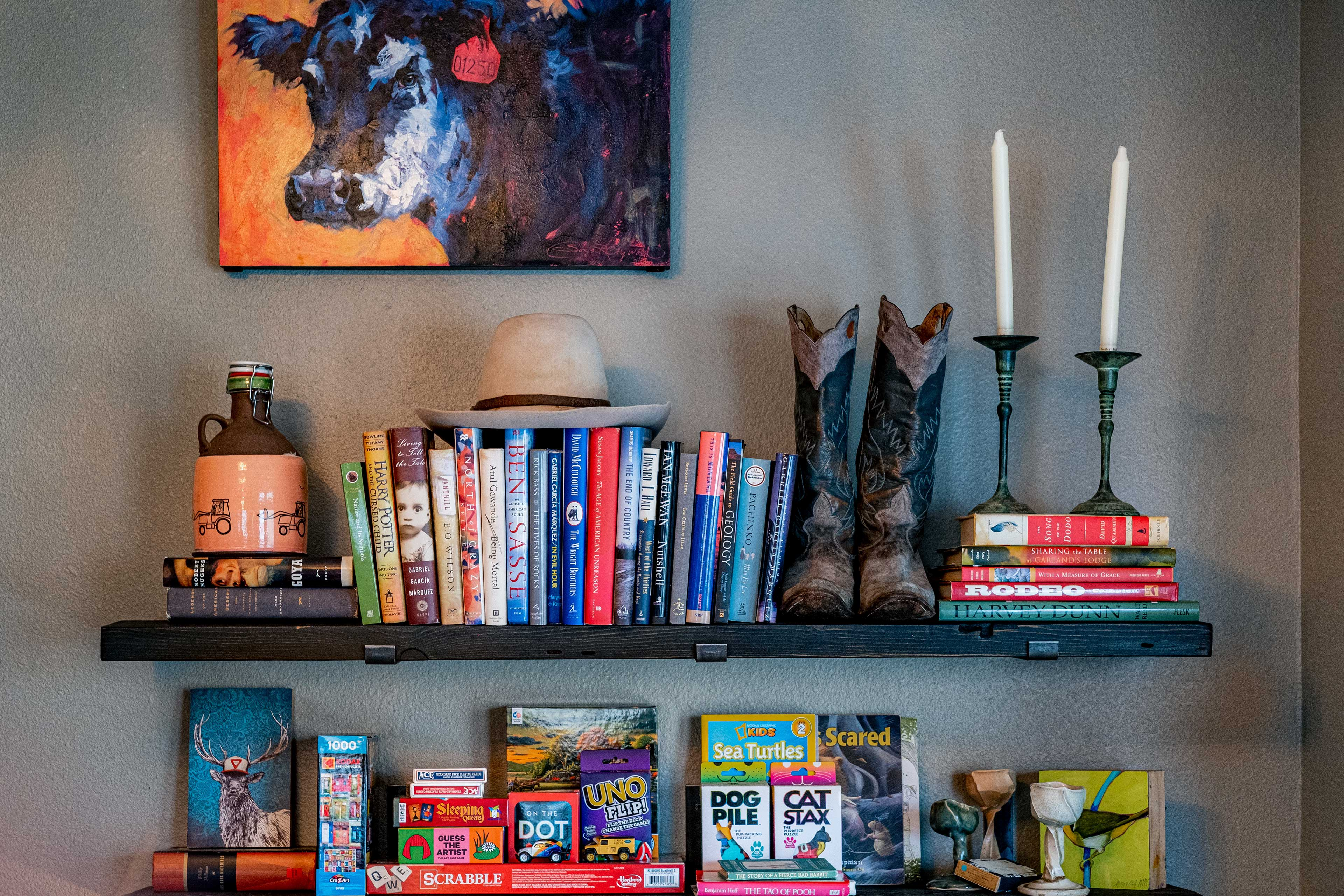 Dining Area | Book & Game Collection