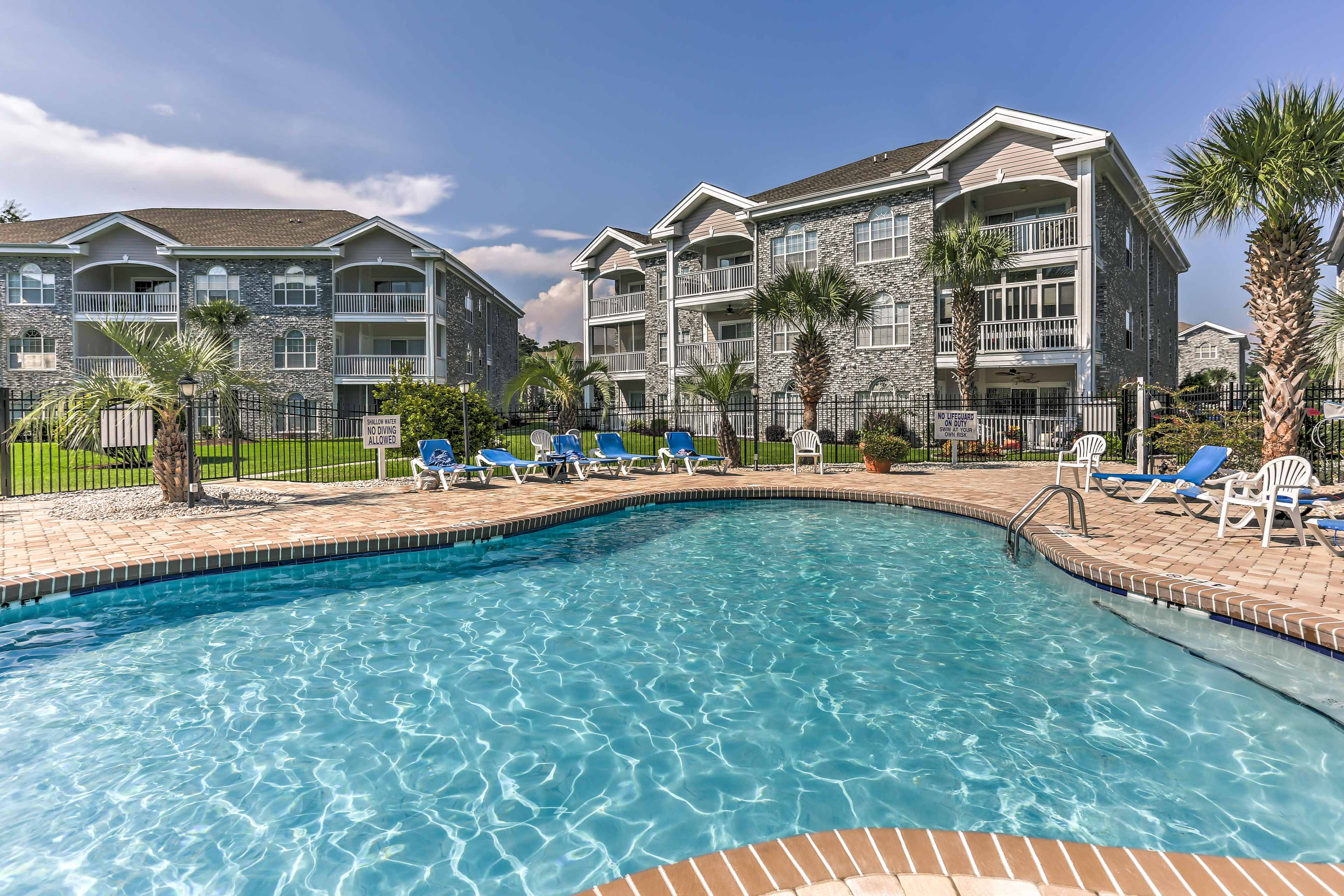 Make a splash in the on-site swimming pool!