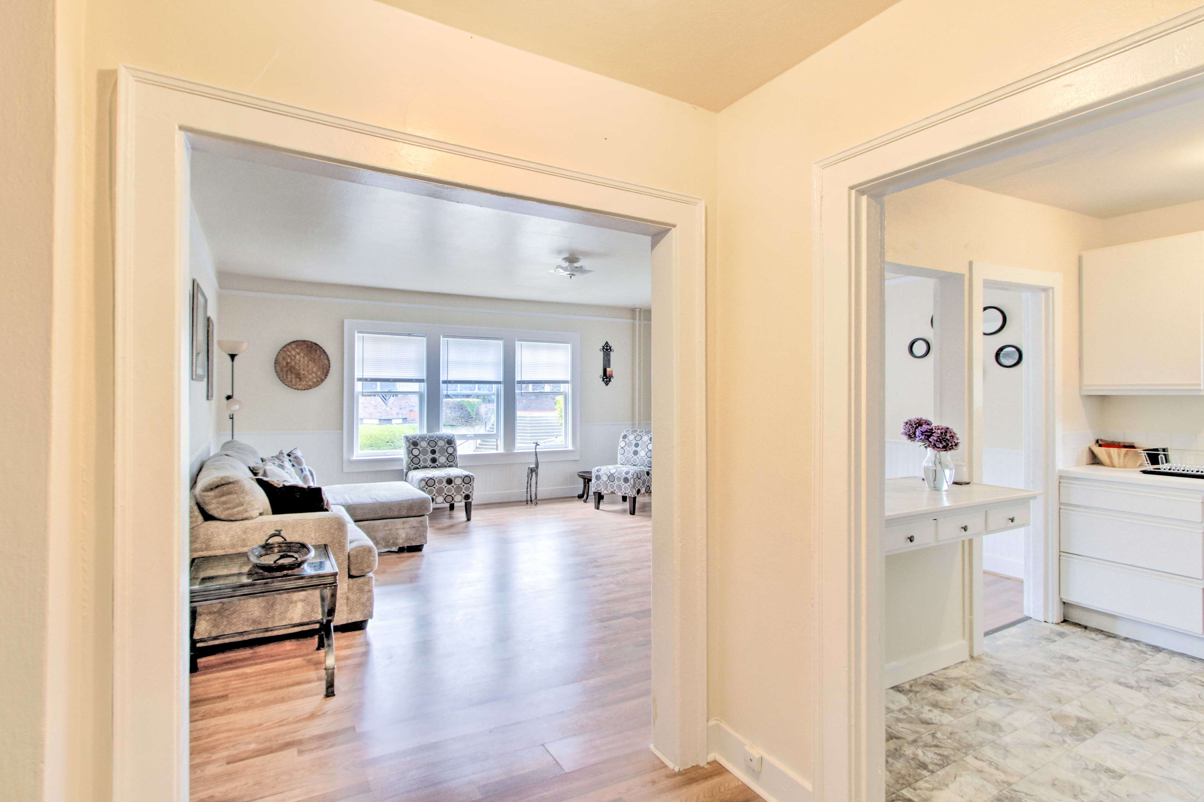 You'll love the open layout of this Aberdeen home.