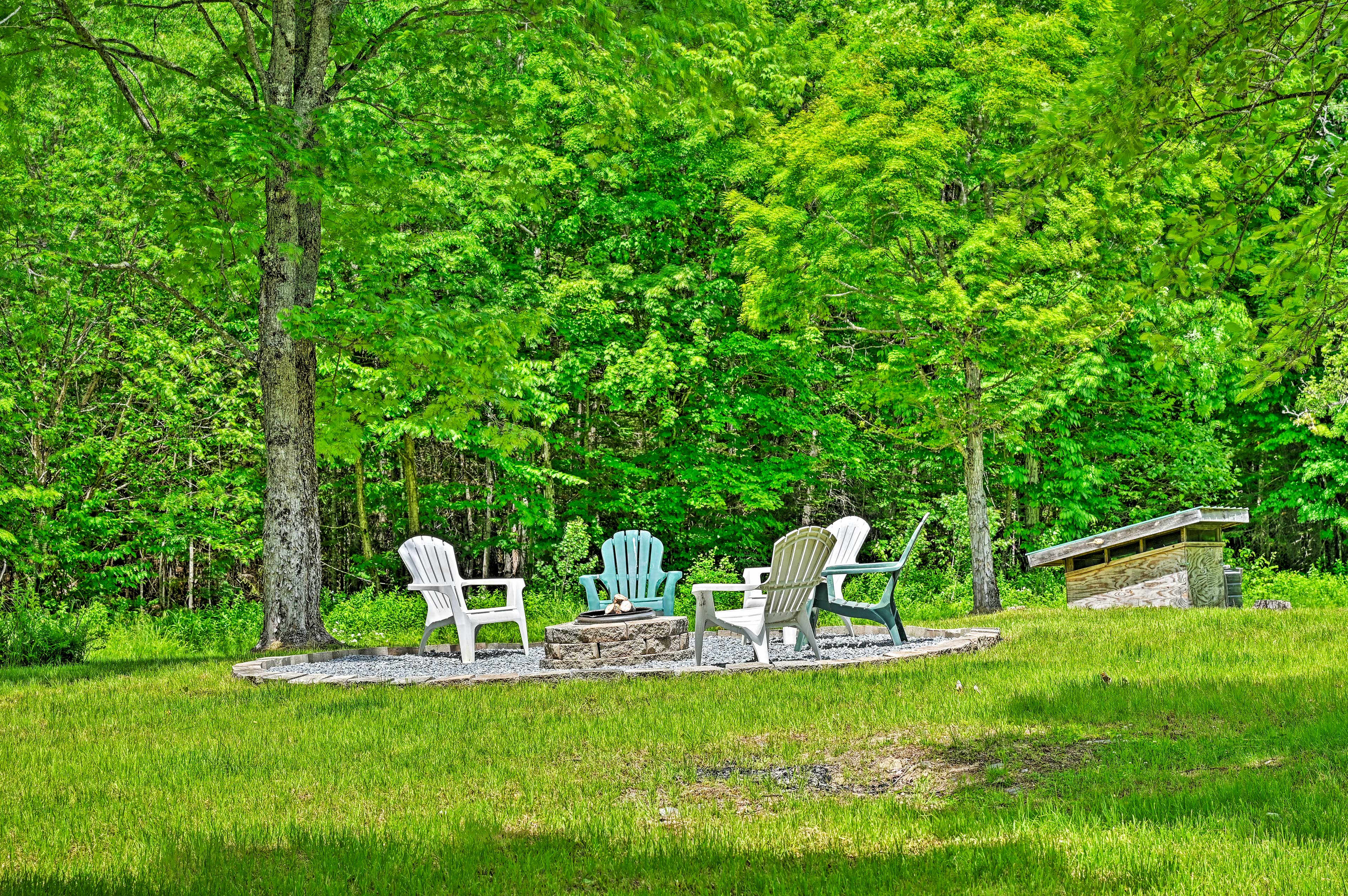 This Granby getaway is close to Burke Mountain ski area!