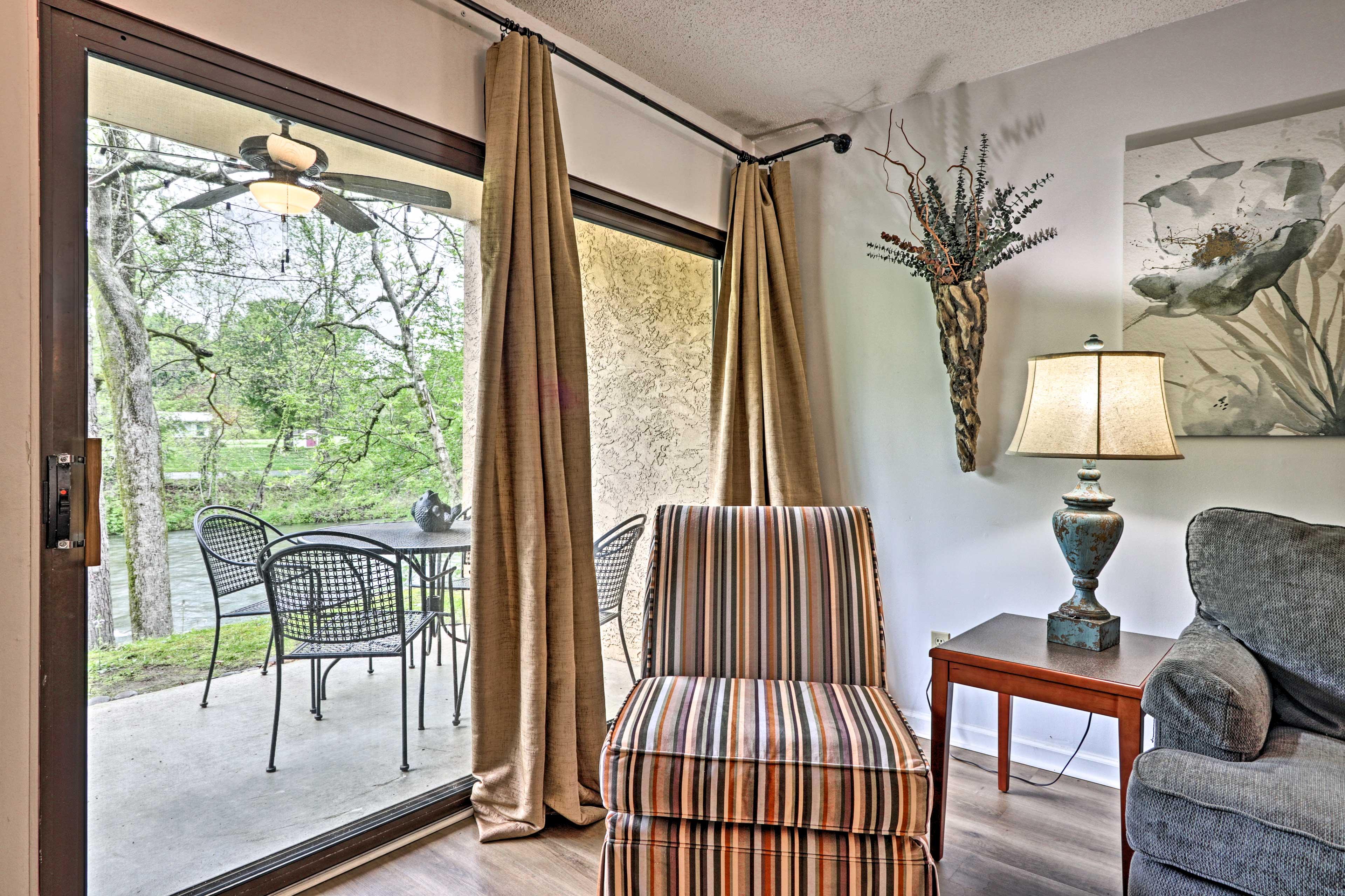 Living Area   Patio Access