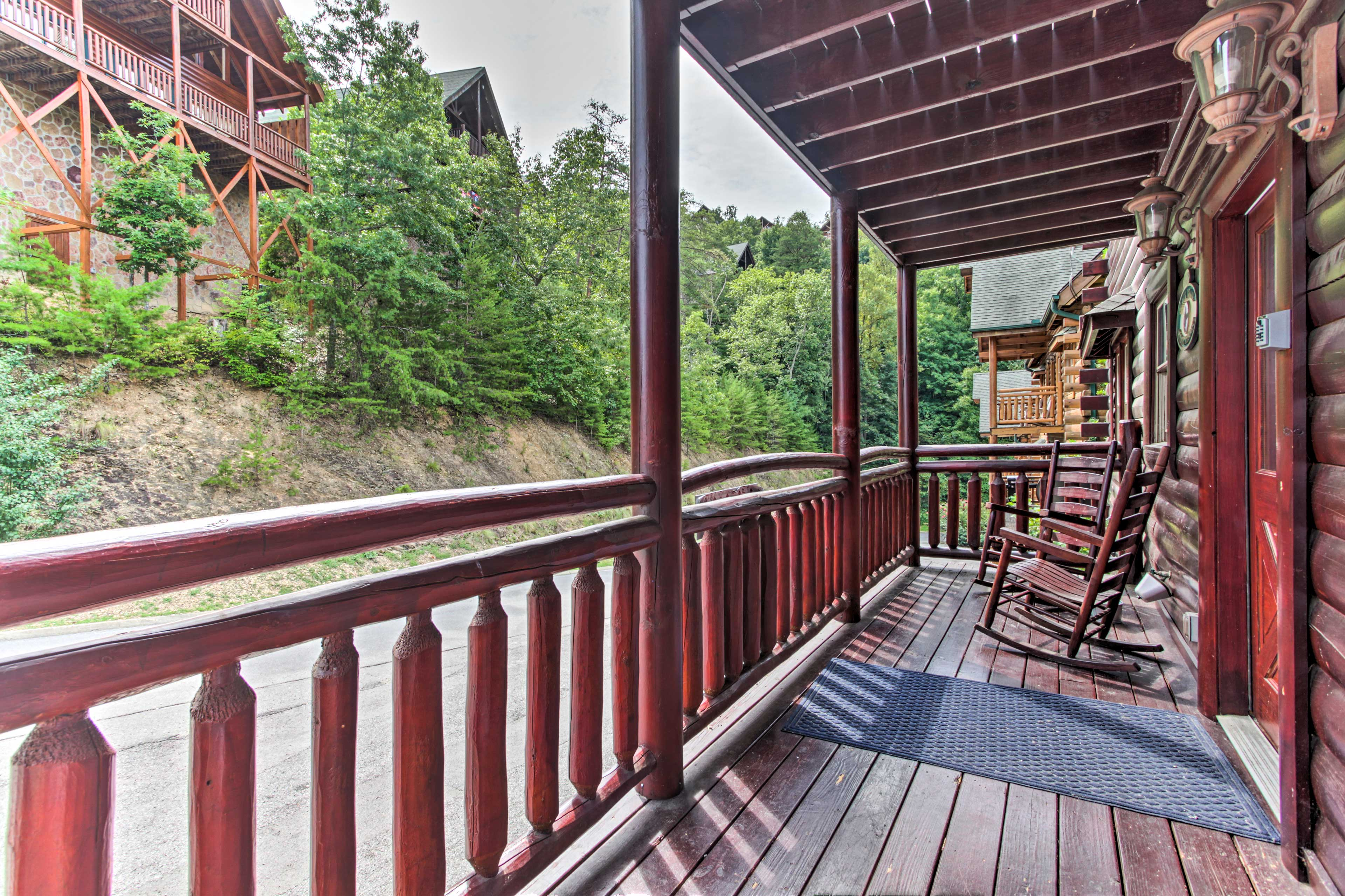 You even get the privacy of having your own deck!