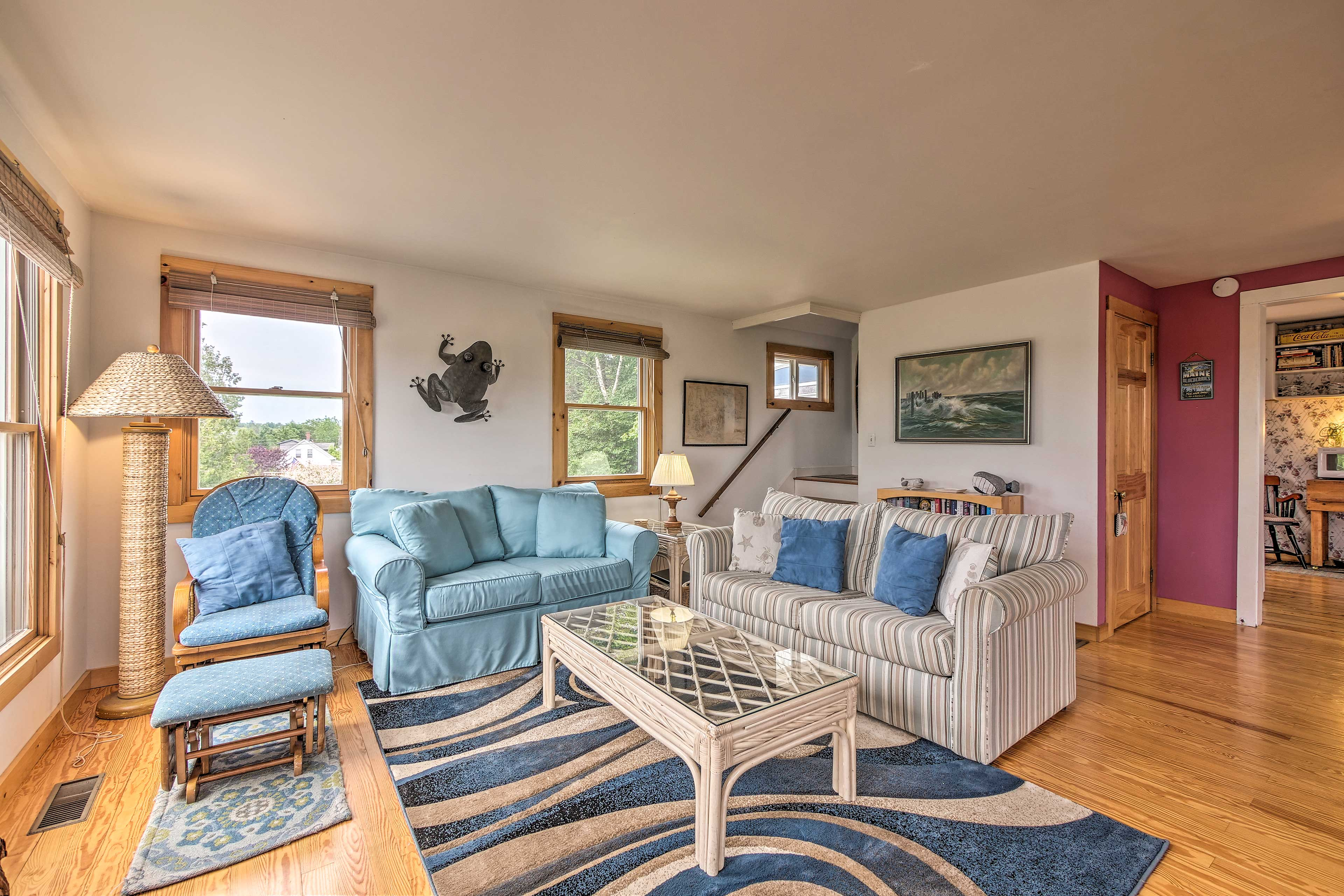 Unwind during your stay at this 3-bedroom, 2.5-bath Southwest Harbor home!