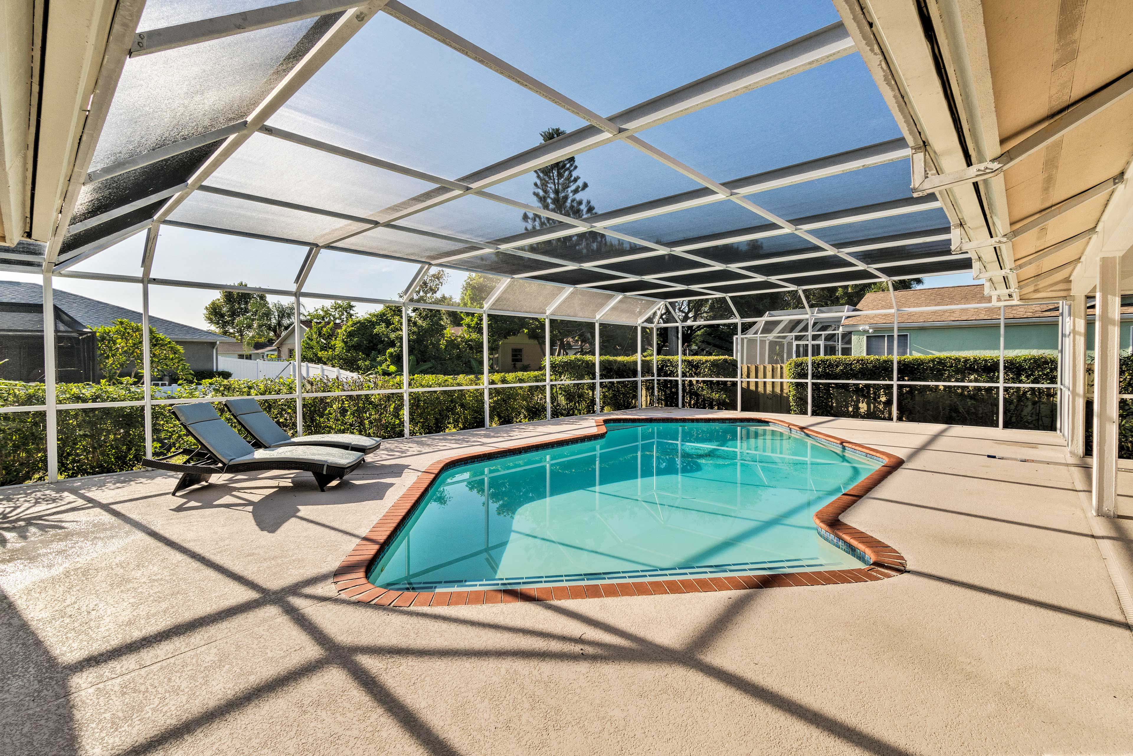 Escape to the Sunshine State at this stunning Bradenton vacation rental!