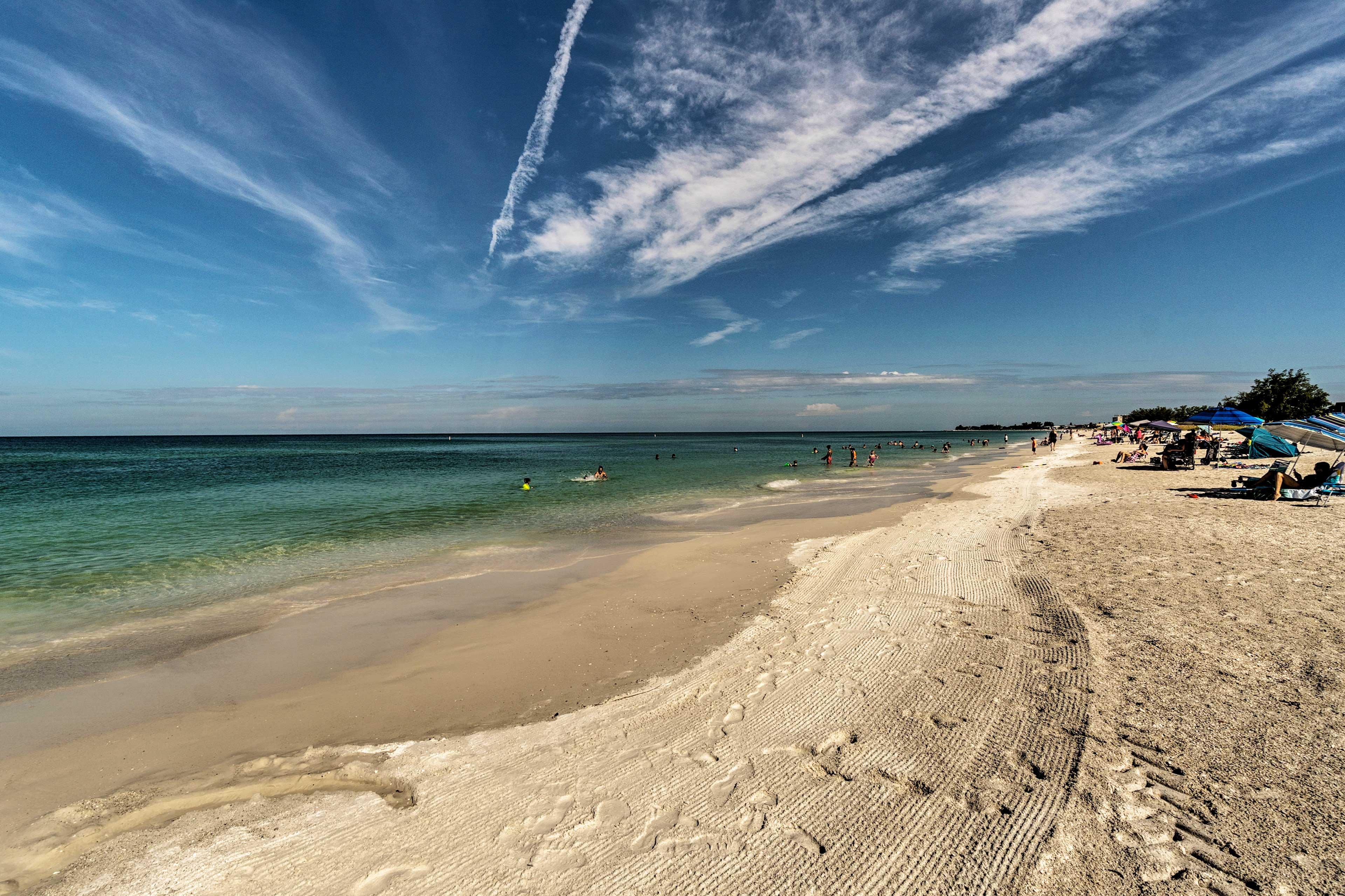 Beach days are easily attainable!