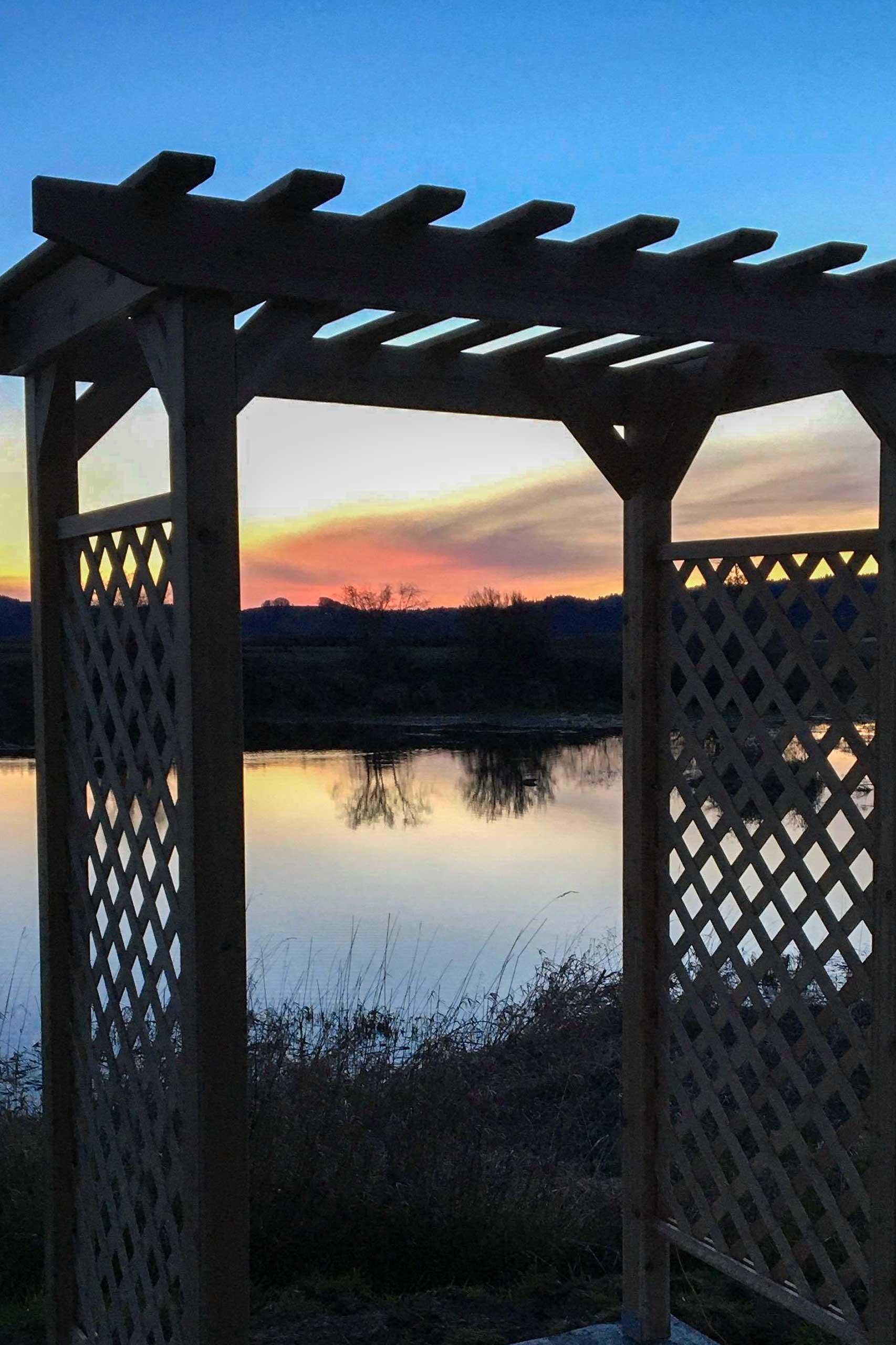 Water/Sunset Views