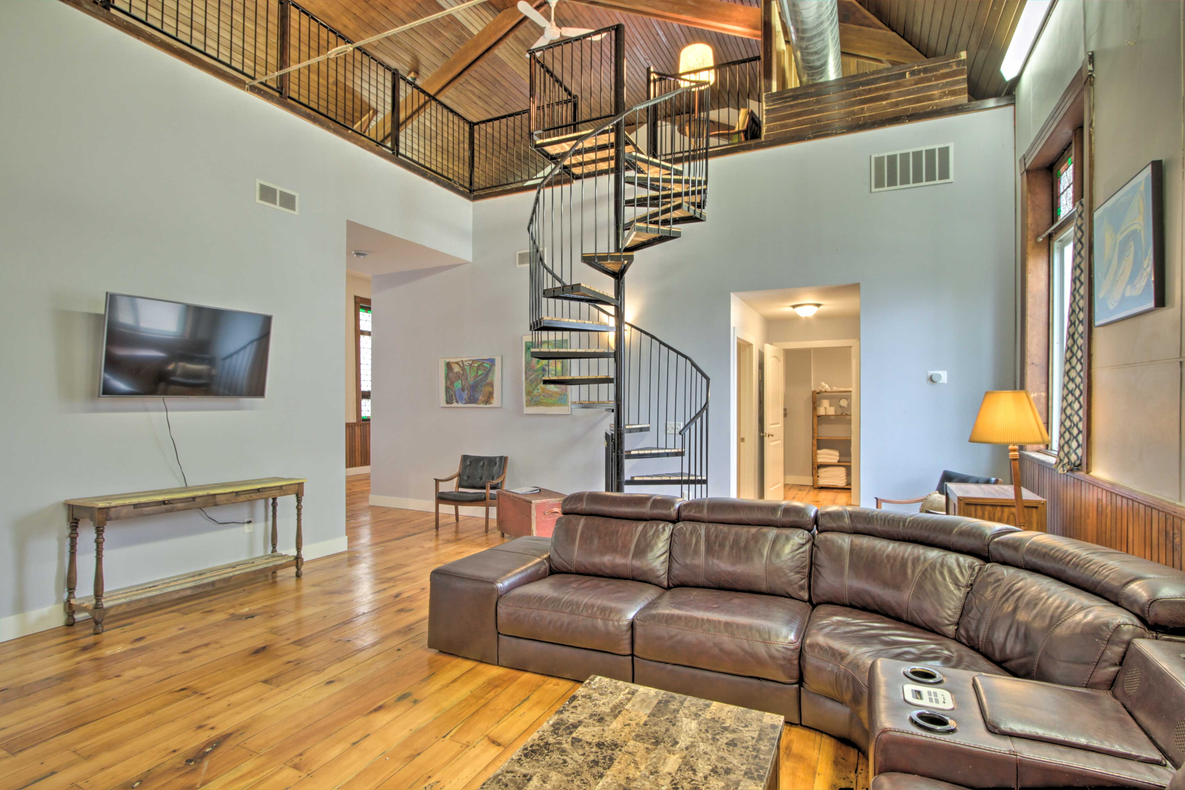 "Main Living Space | 50"" Smart TV"