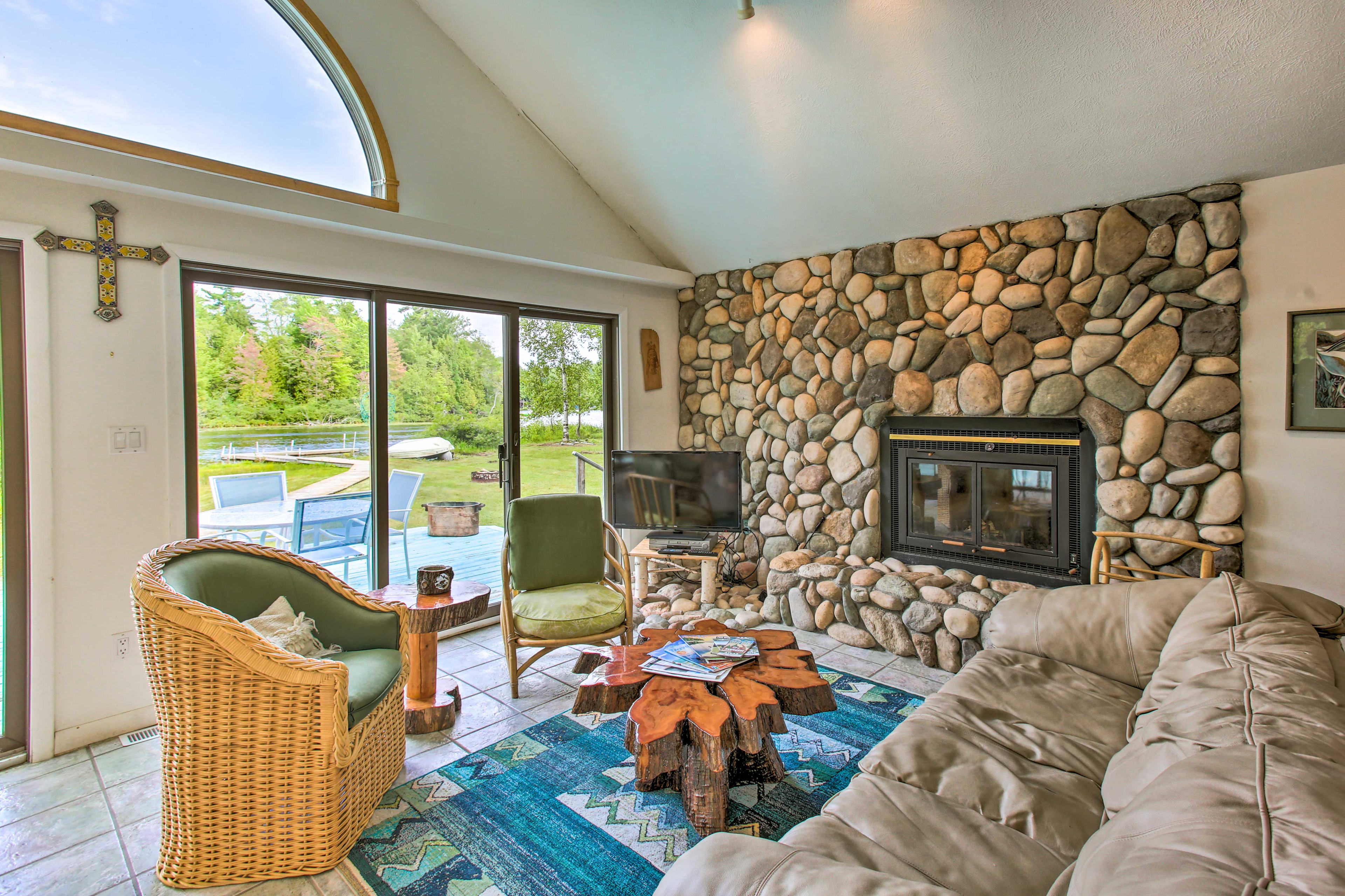 Head Up North and stay at this 3-bedroom, 1-bath cabin!