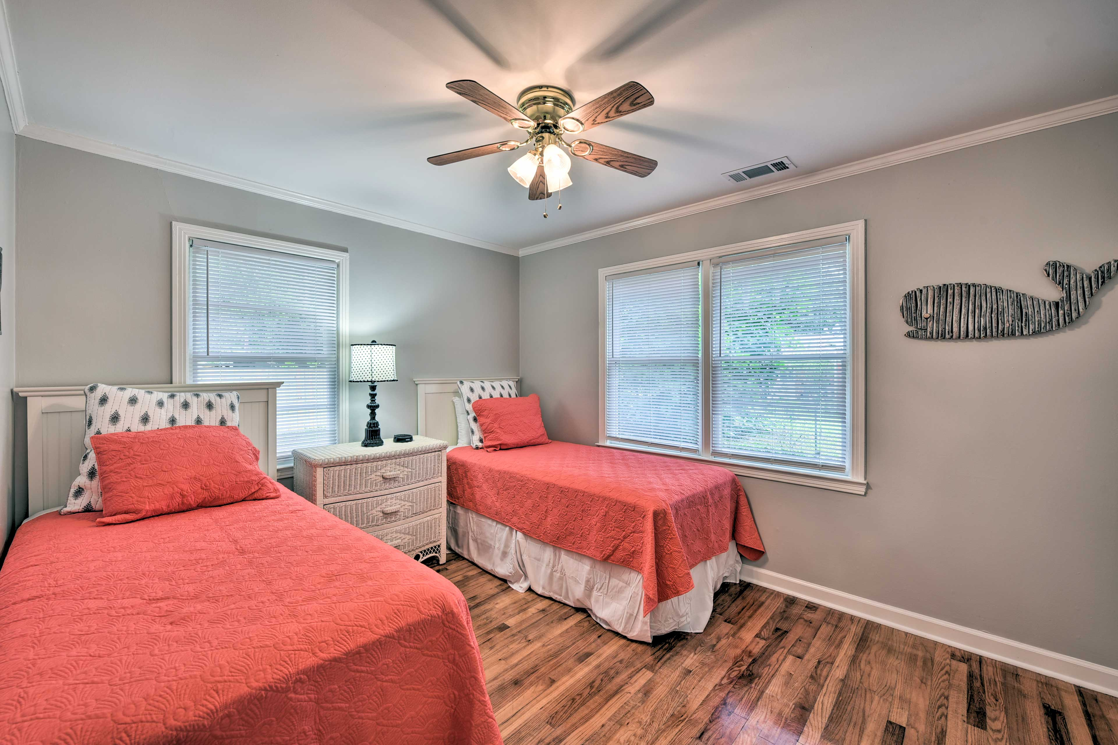Bedroom 3 features 2 twin beds, perfect for anyone!